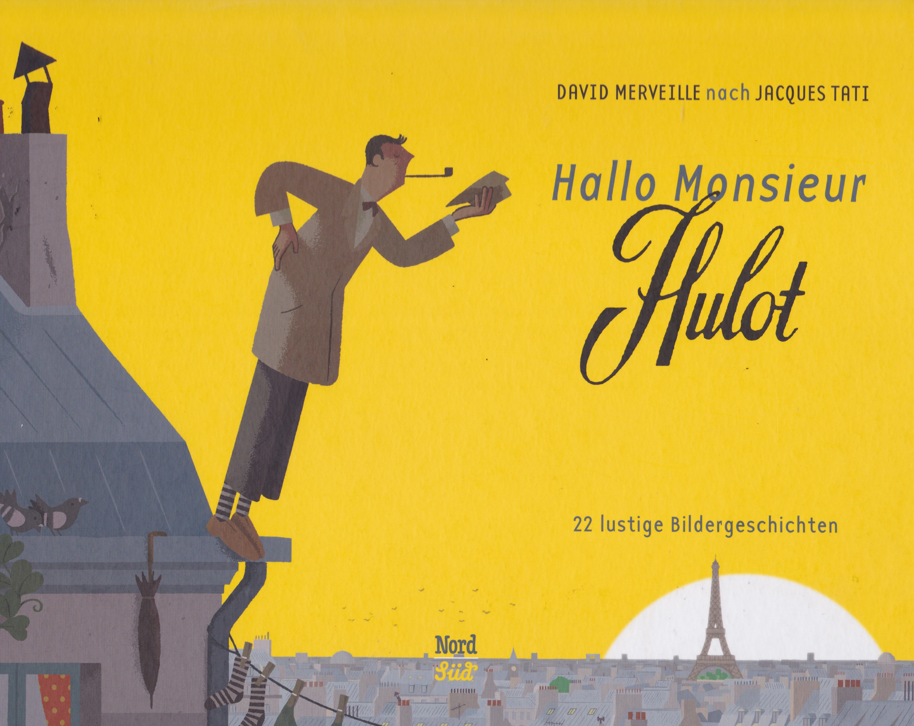 Hallo Monsieur Hulot Book Cover