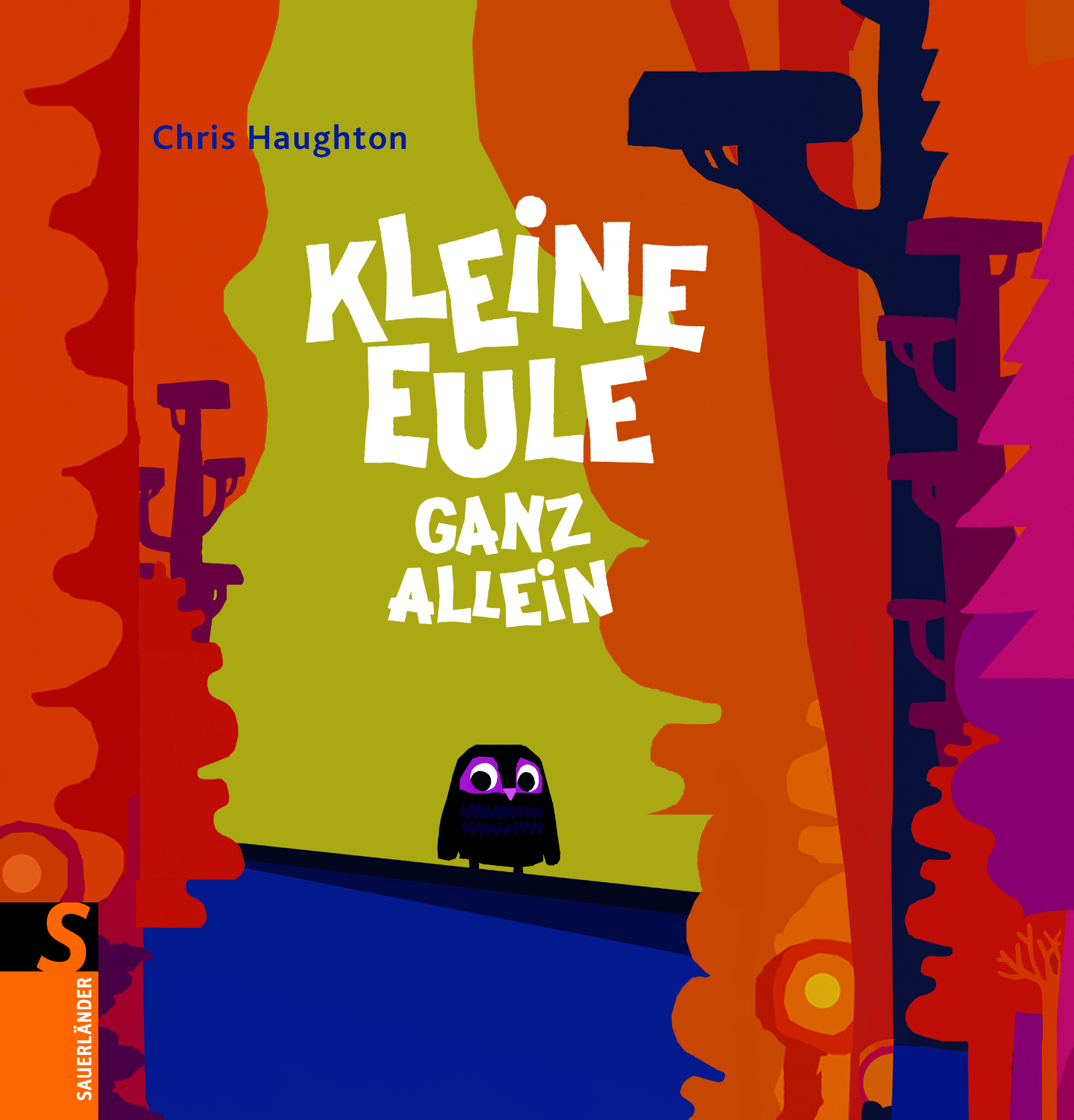 Kleine Eule ganz allein Book Cover