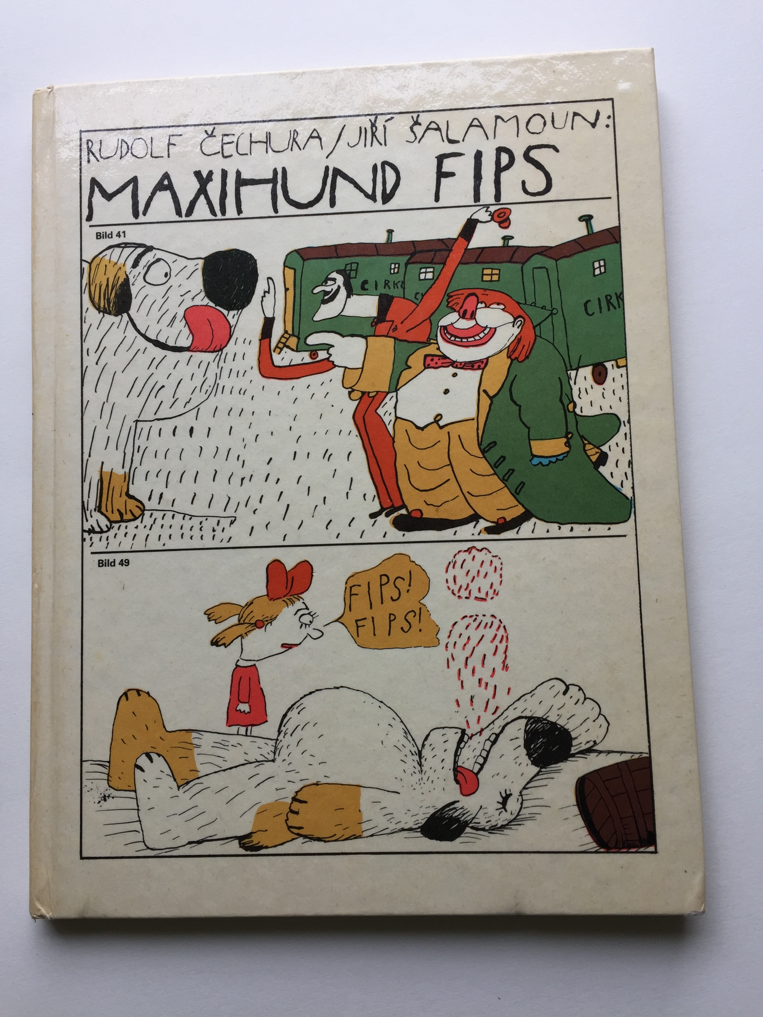 Maxihund Fips Book Cover