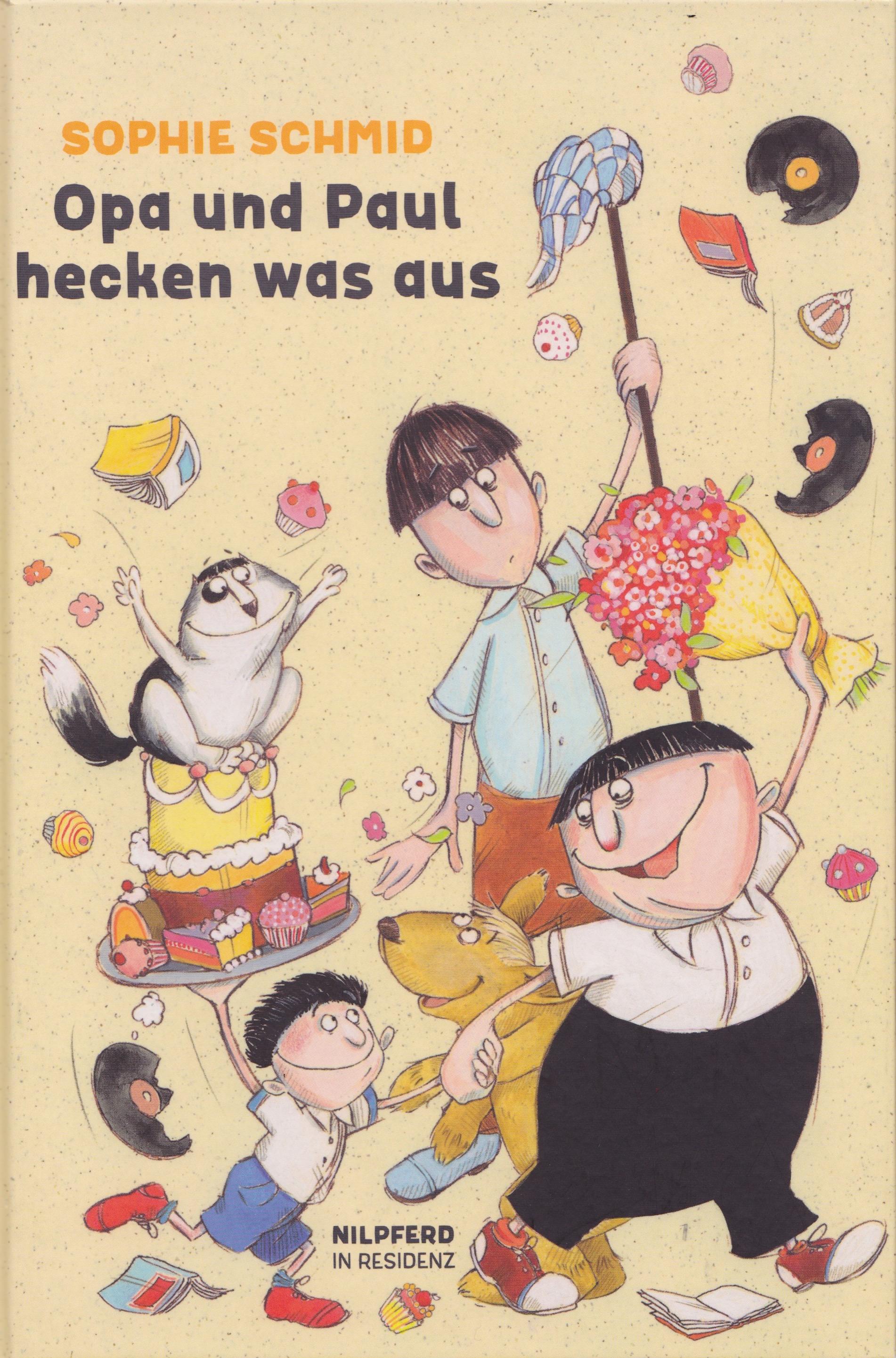 Opa und Paul hecken was aus Book Cover