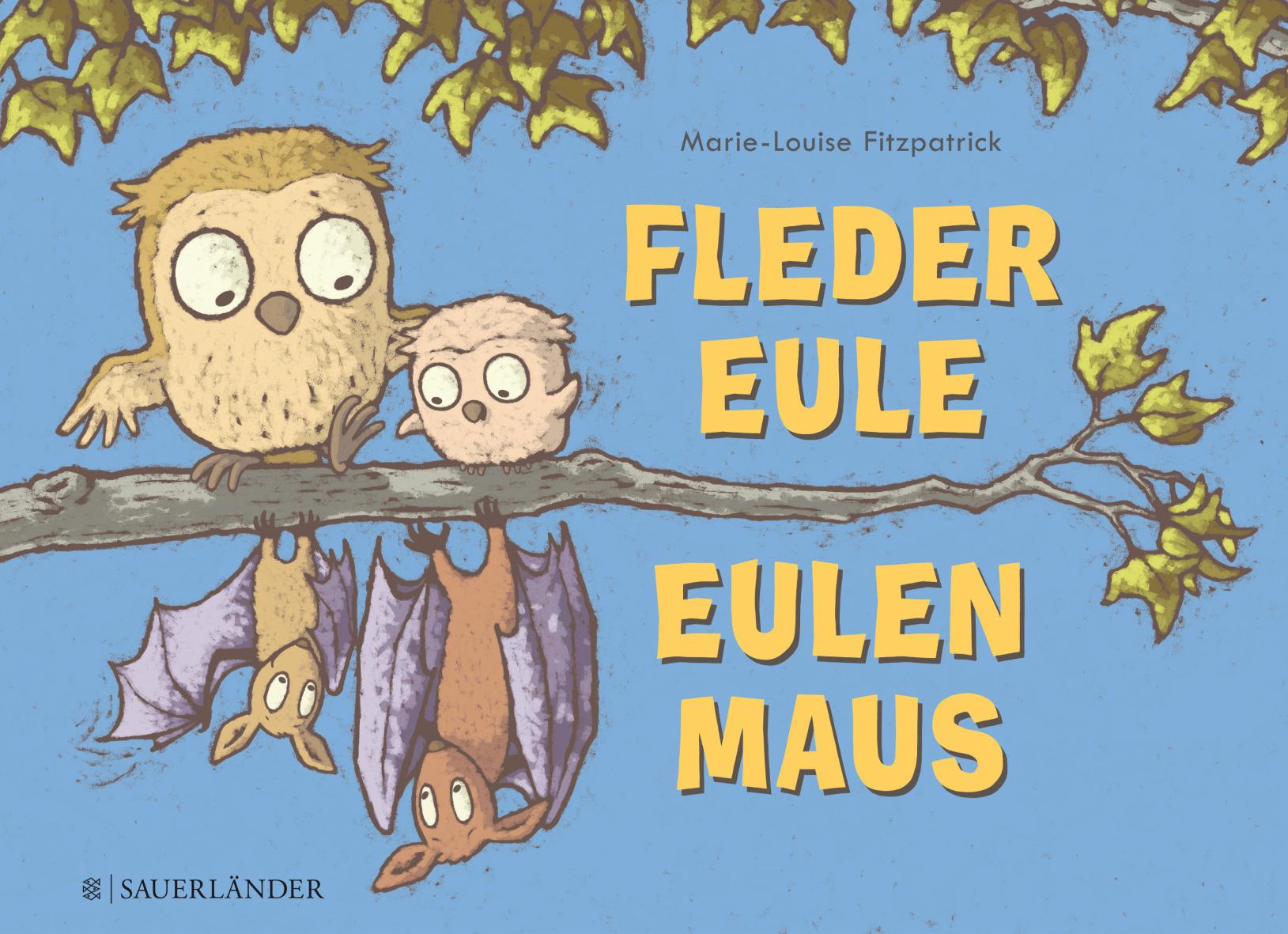 Fledereule Eulenmaus Book Cover