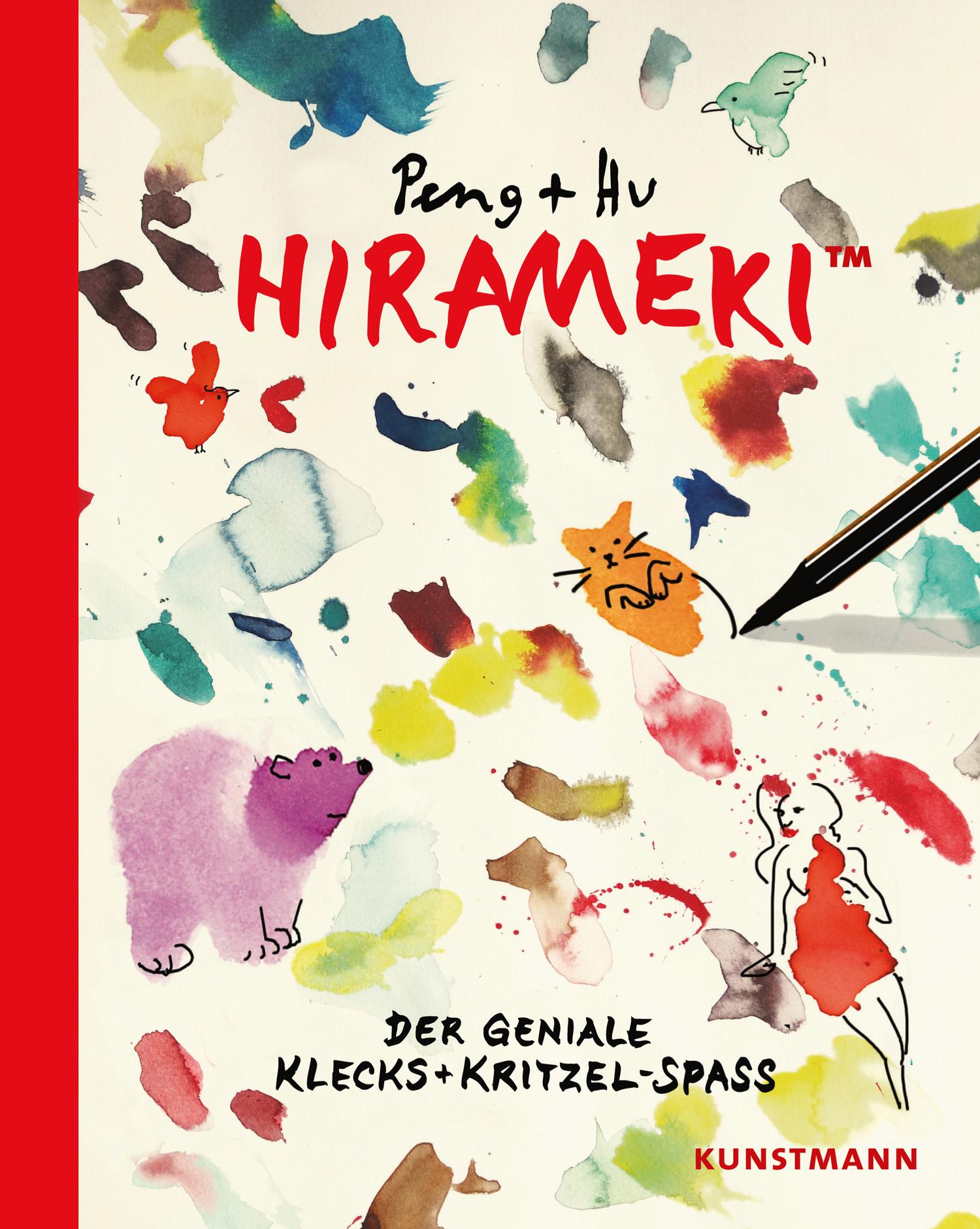 Hirameki Der geniale Klecks- und Kritzelspaß Book Cover