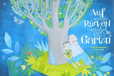 Auf meinem Rücken wächst ein Garten Book Cover