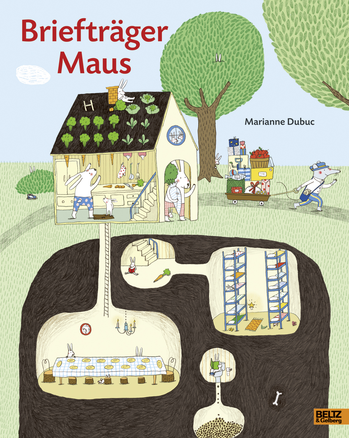 Briefträger Maus Book Cover