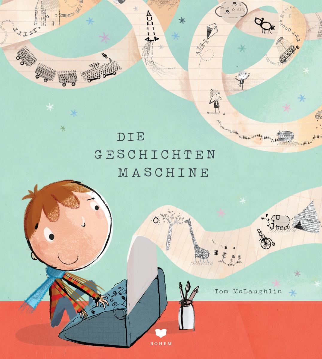 Die Geschichtenmaschine Book Cover