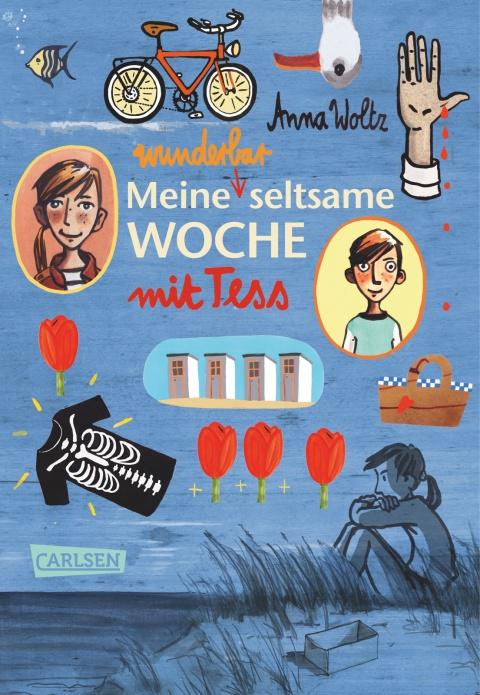 Meine wunderbar seltsame Woche mit Tess Book Cover