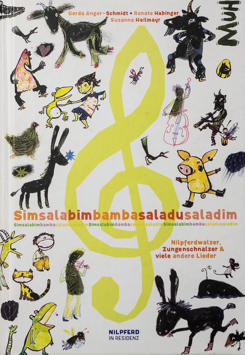 Simsalabimbambasaladusaladim – Nilpferdwalzer, Zungenschnalzer & viele andere Lieder Book Cover