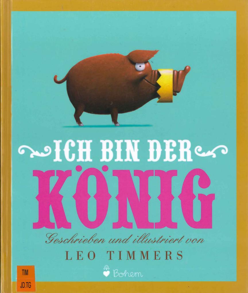 Ich bin der König Book Cover