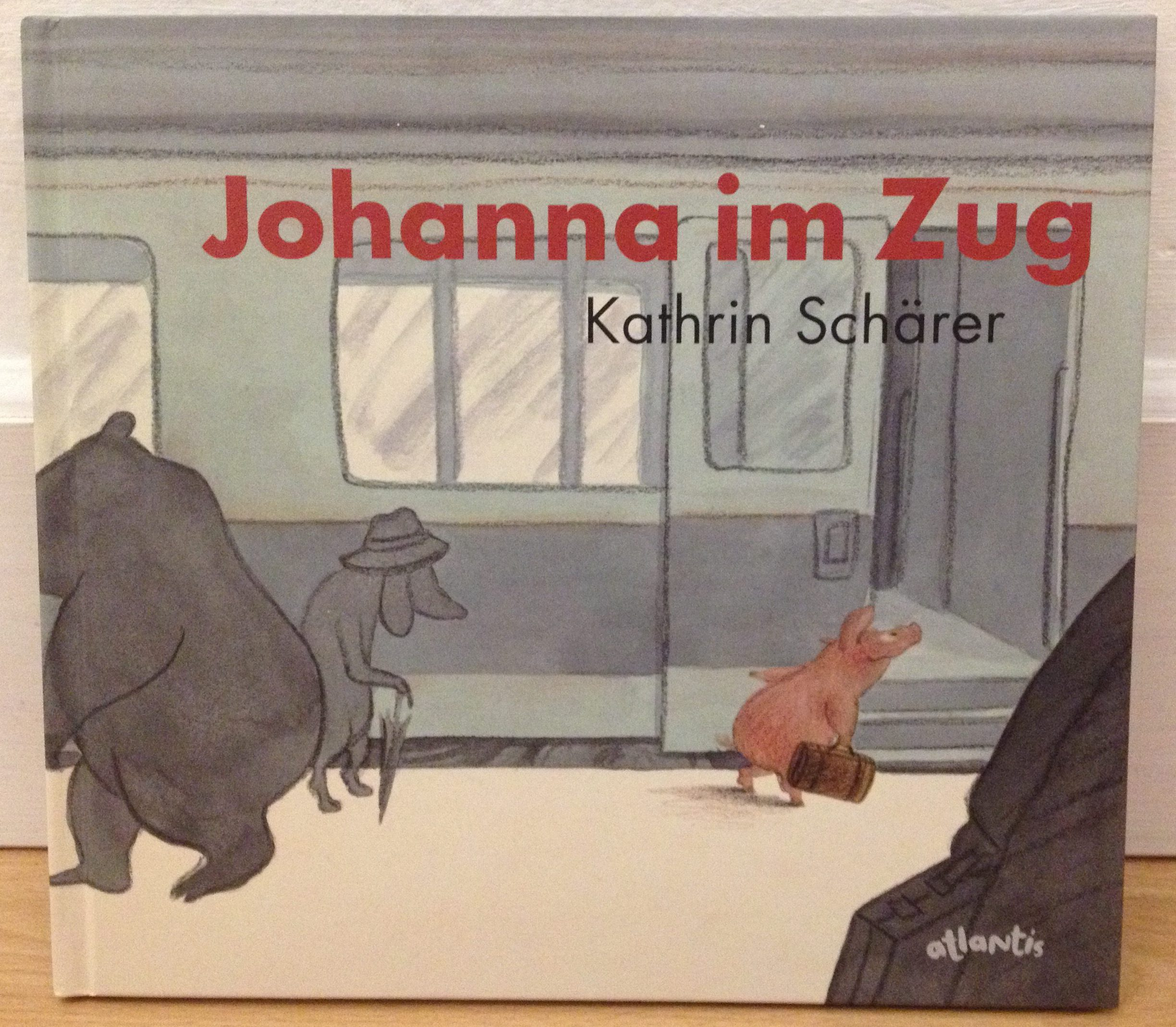 Johanna im Zug Book Cover