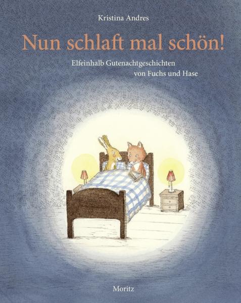 Nun schlaft mal schön! Elfeinhalb Gutenachtgeschichten von Fuchs und Hase Book Cover