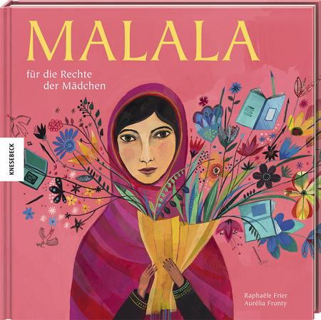 Malala für die Rechte der Mädchen Book Cover