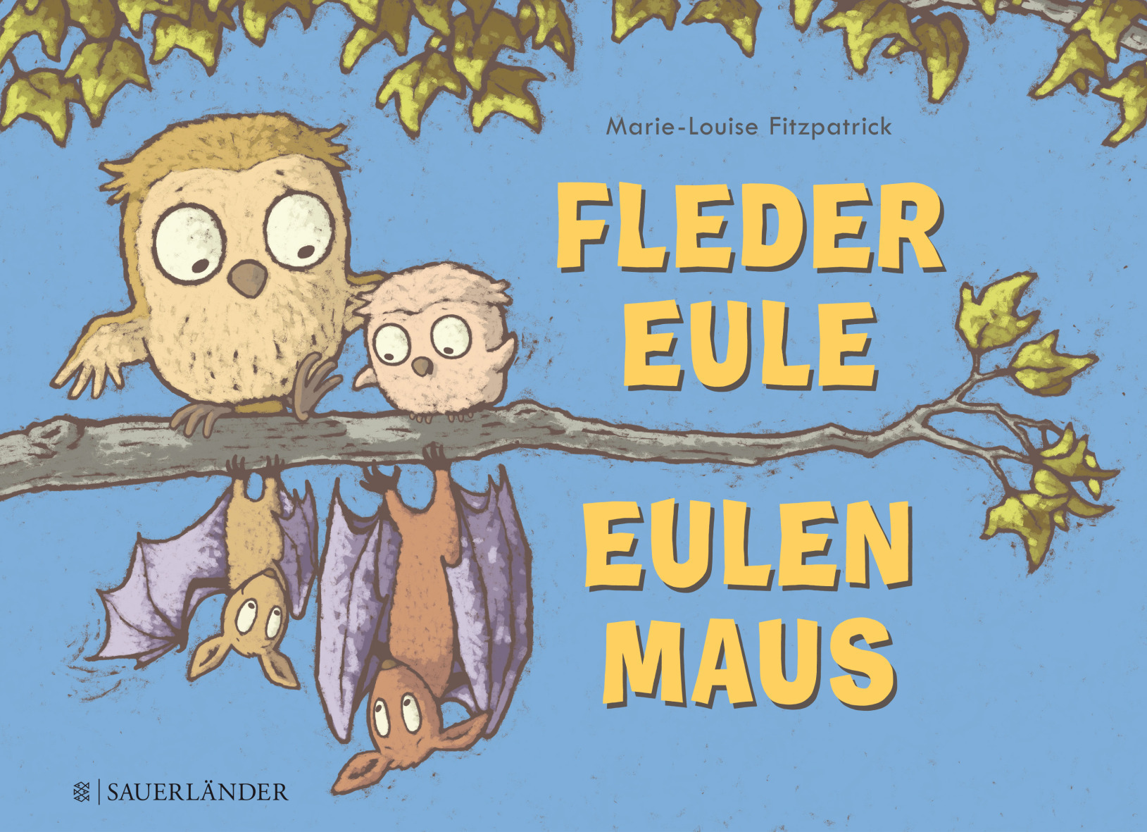 Fledereule Eulenmaus Book Cover