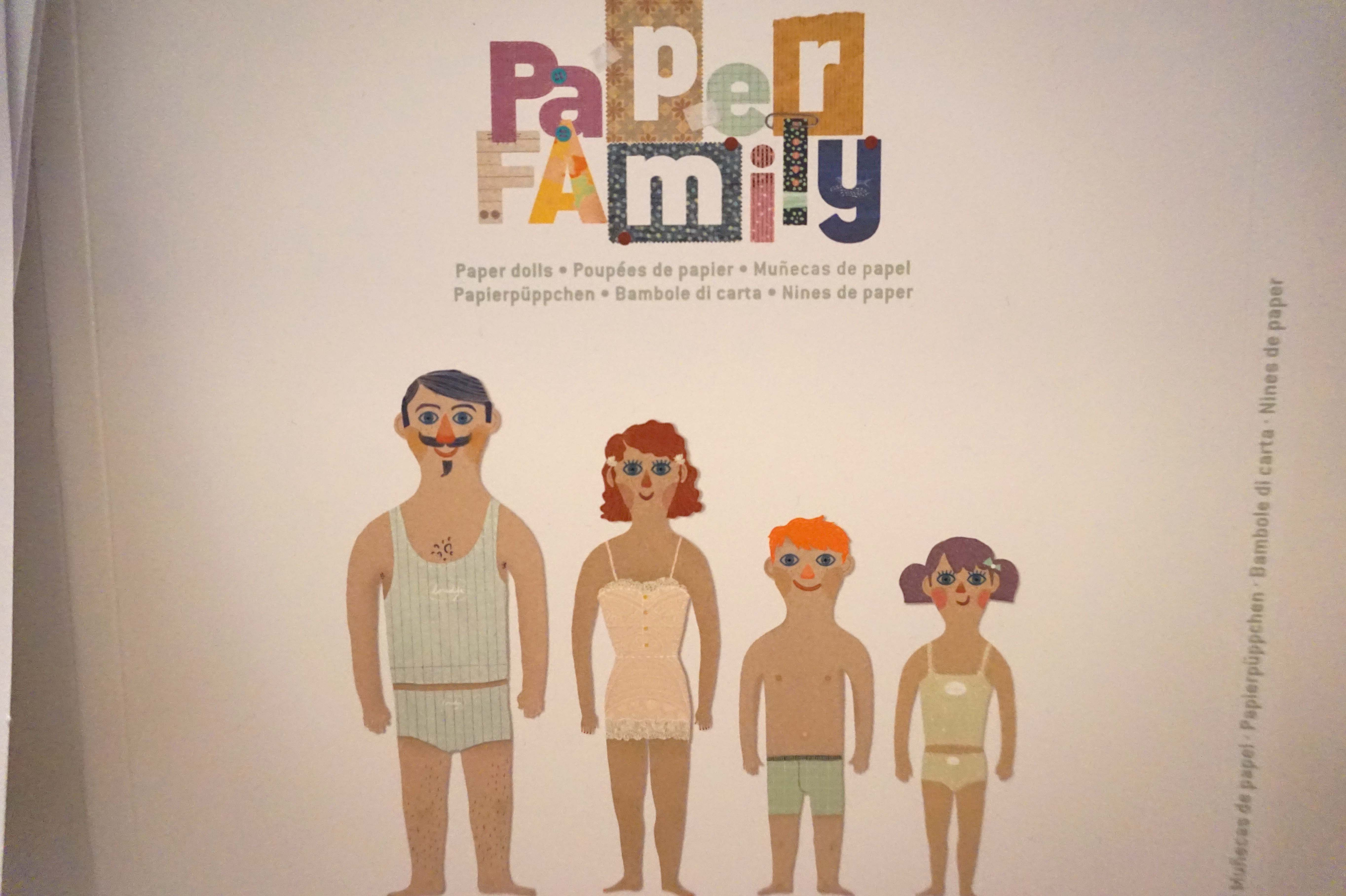 Paper Family Book Cover