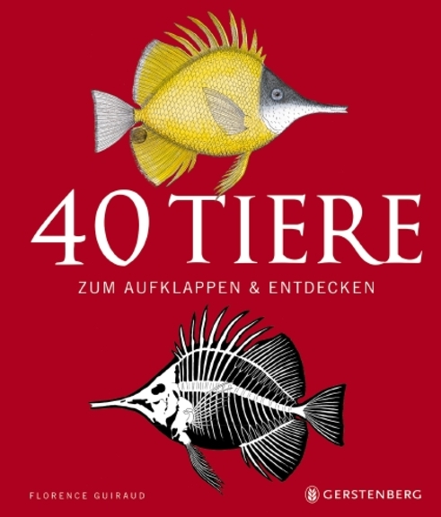 40 Tiere zum Aufklappen & Entdecken Book Cover