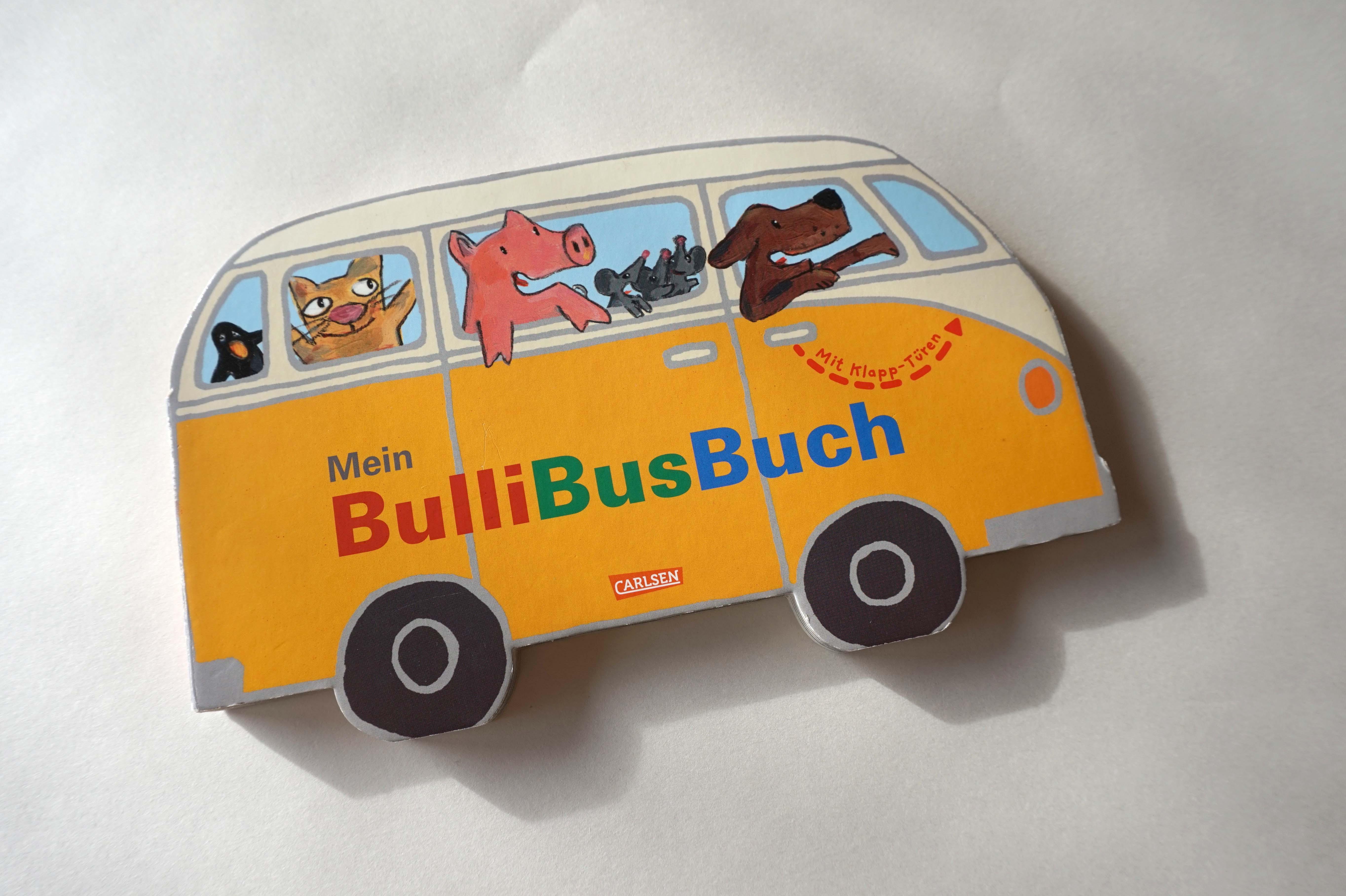 Mein BulliBusBuch Book Cover