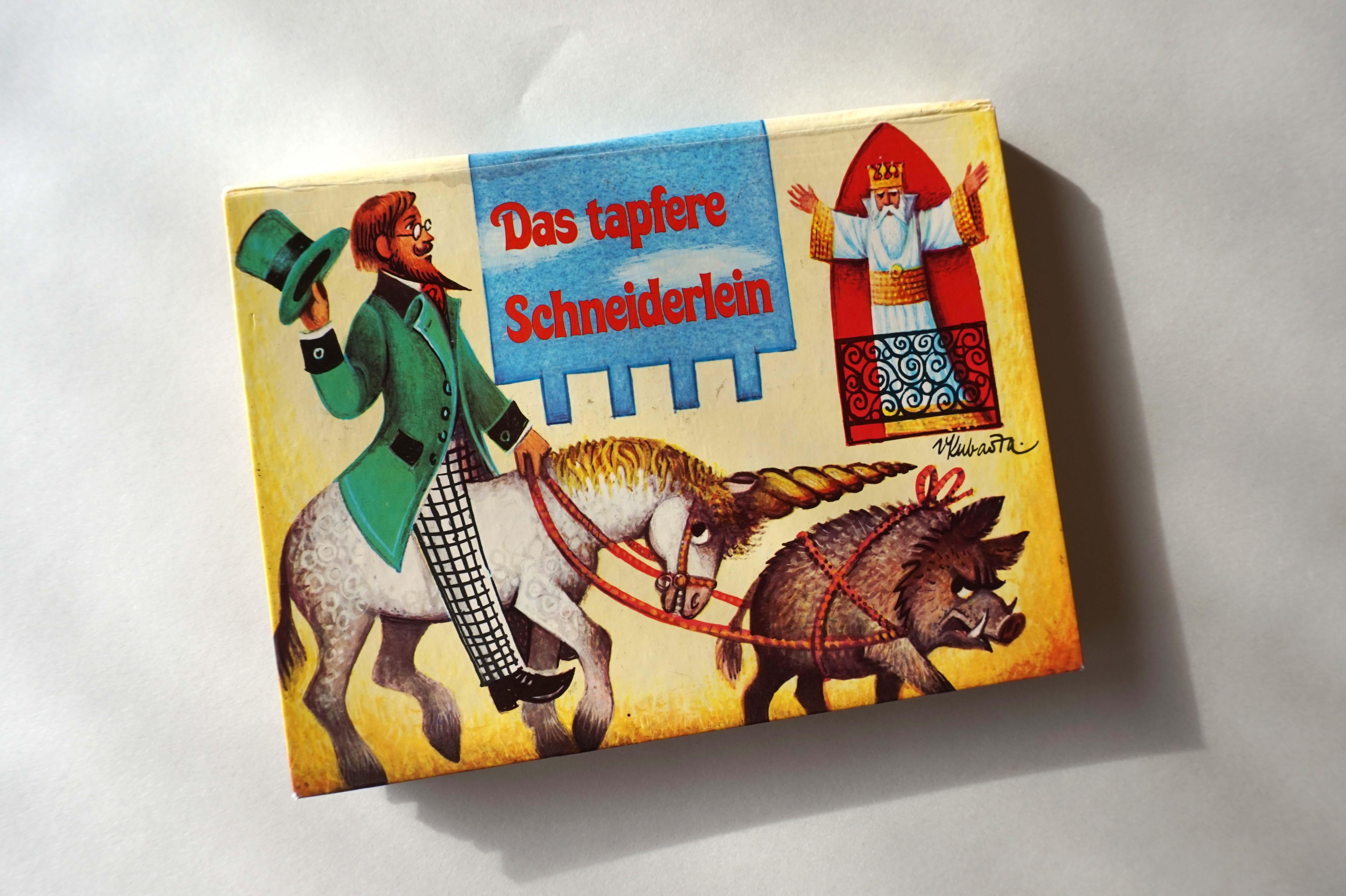 Das tapfere Schneiderlein Book Cover