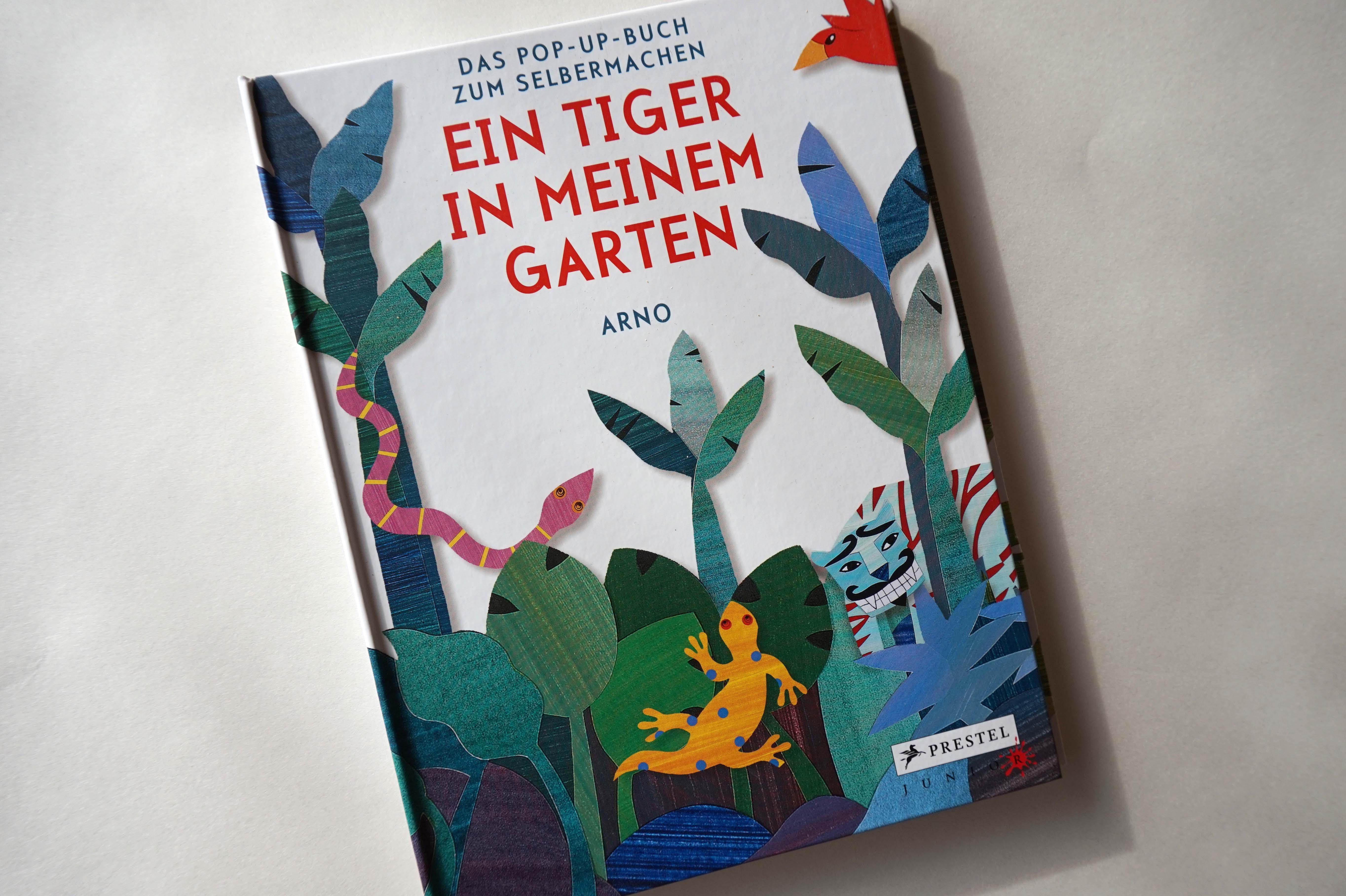 Ein Tiger in meinem Garten Book Cover