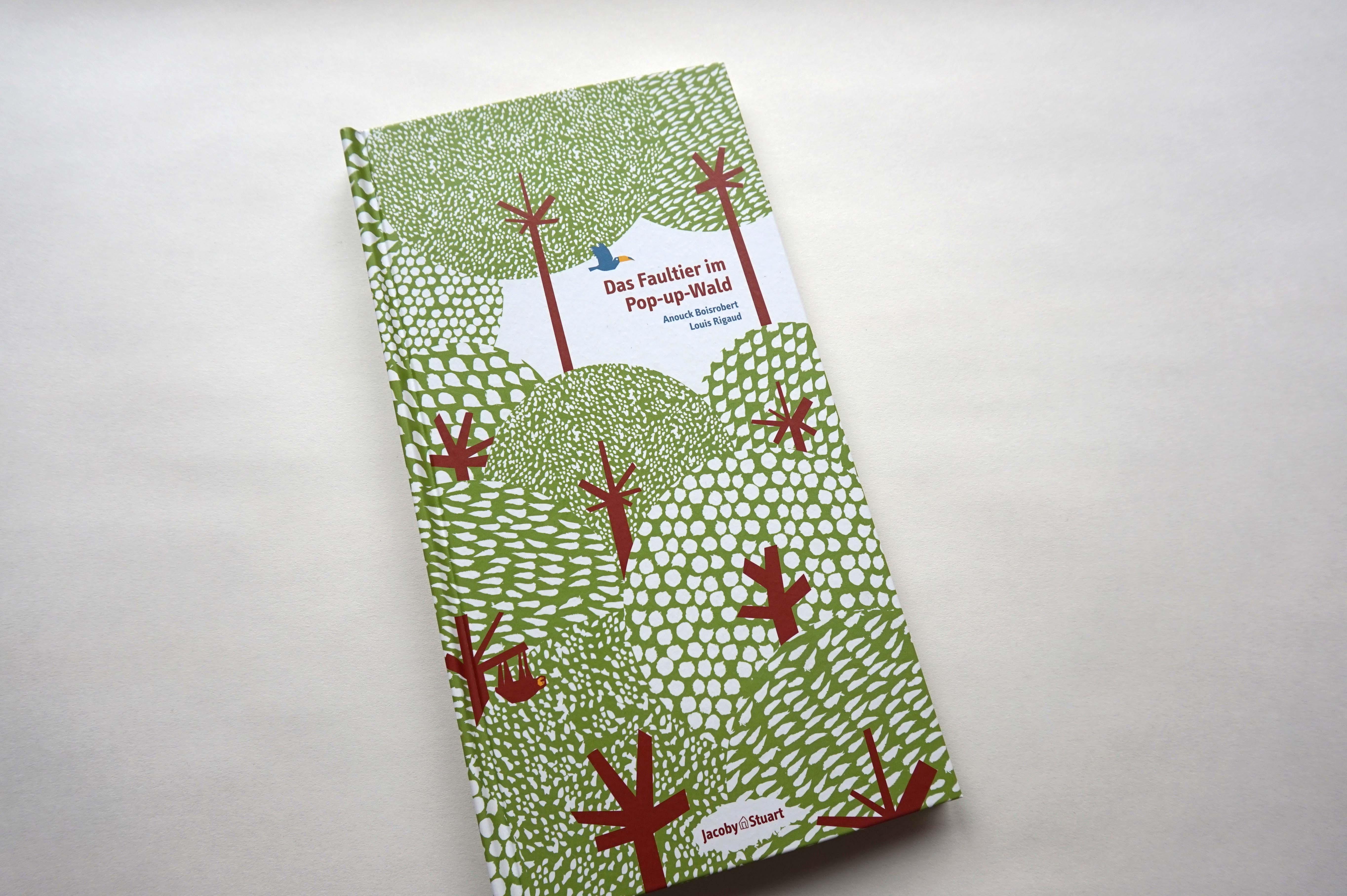 Das Faultier im Pop-up-Wald Book Cover