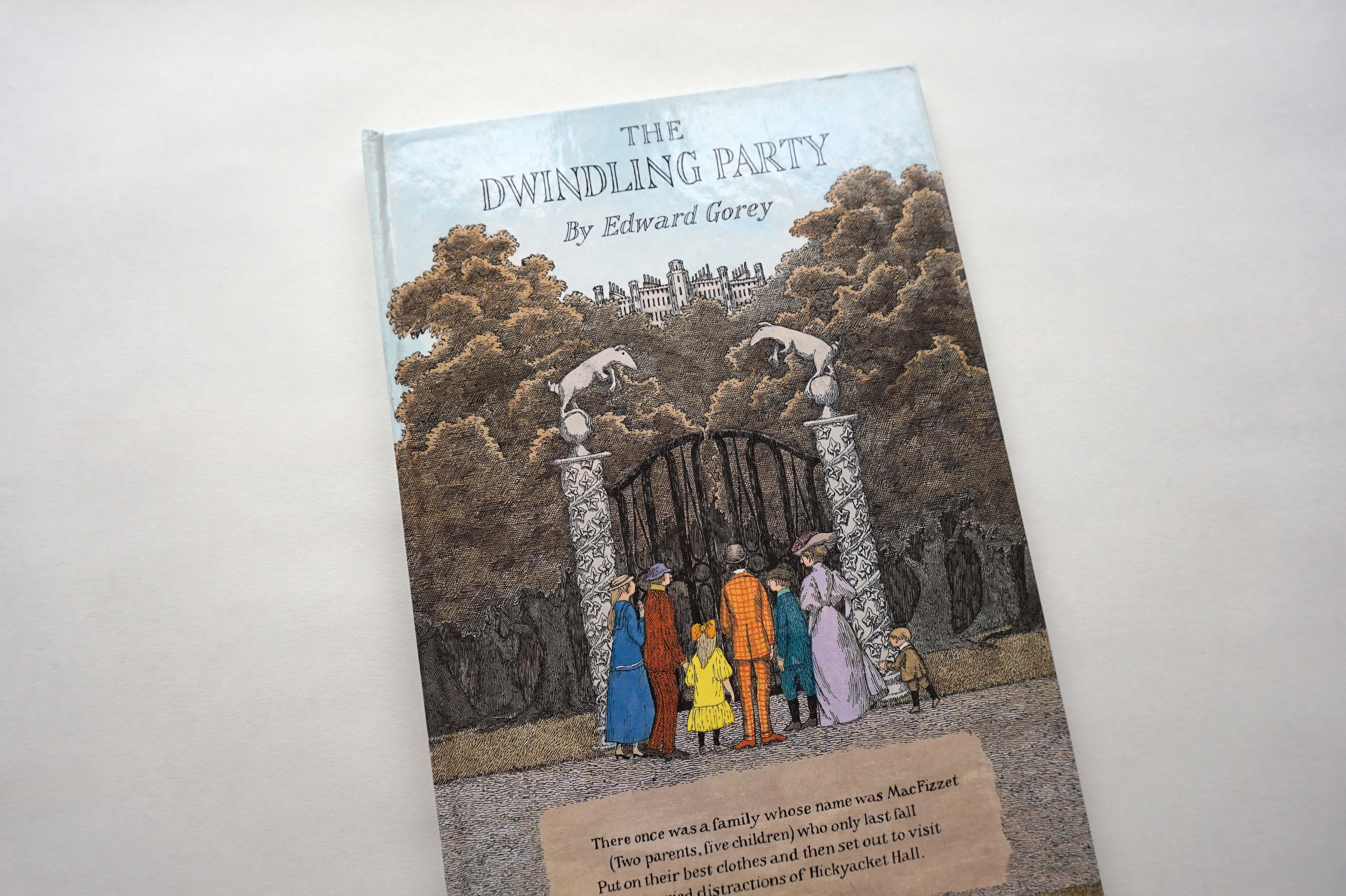 The dwindling Party Book Cover