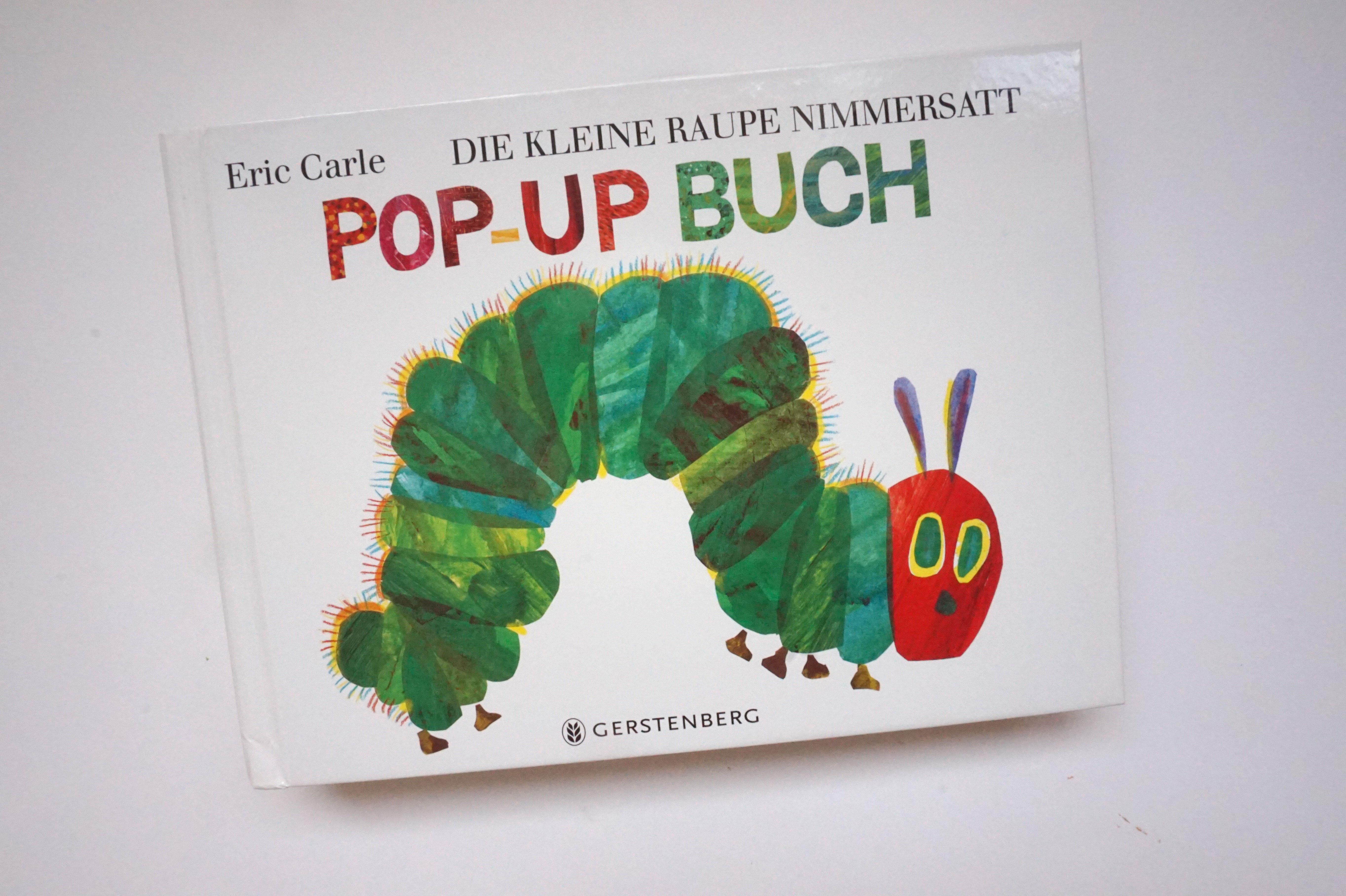 Die kleine Raupe Nimmersatt Book Cover