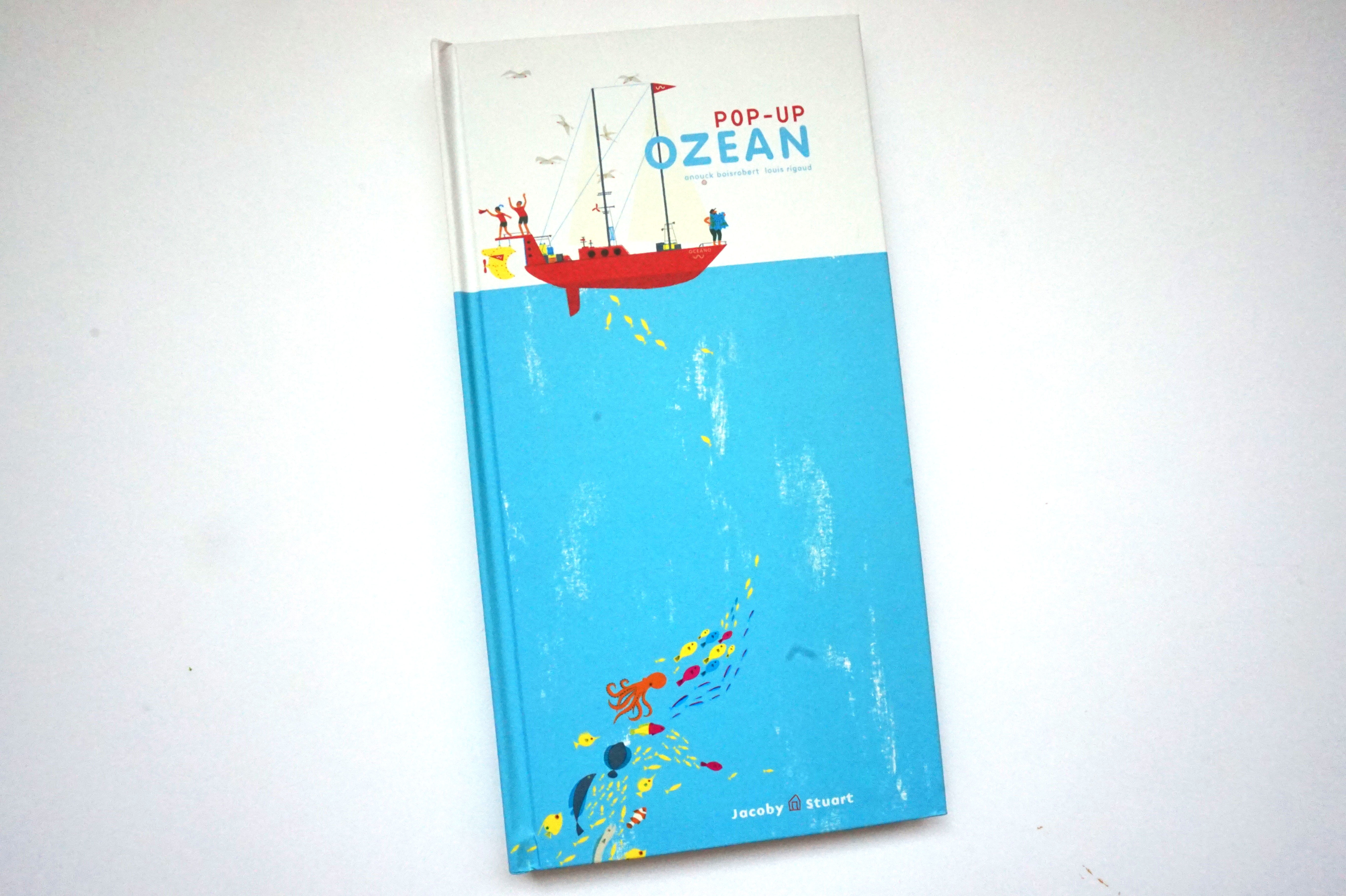 Pop-up Ozean Book Cover
