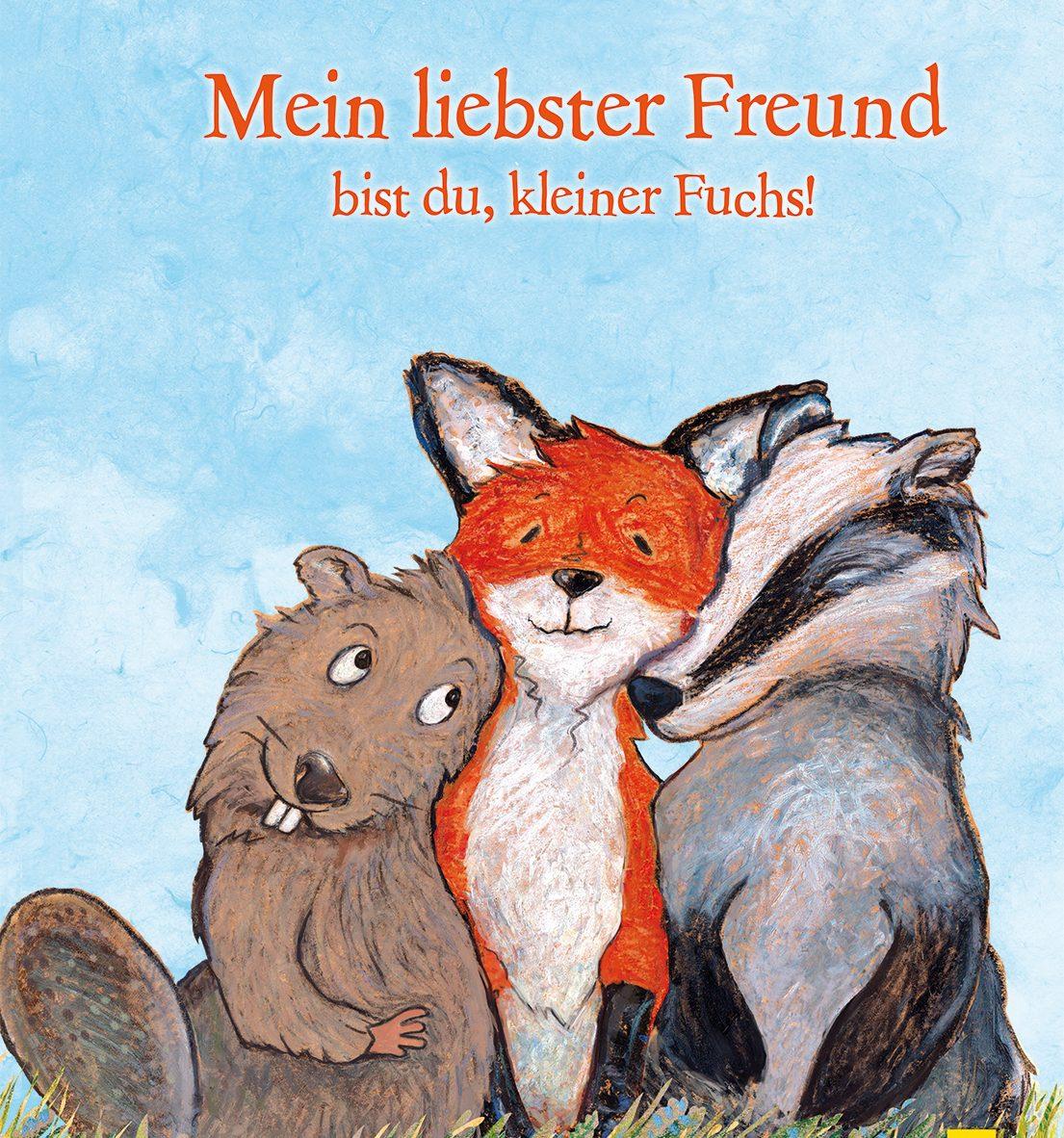 Mein liebster Freund bist du, kleiner Fuchs