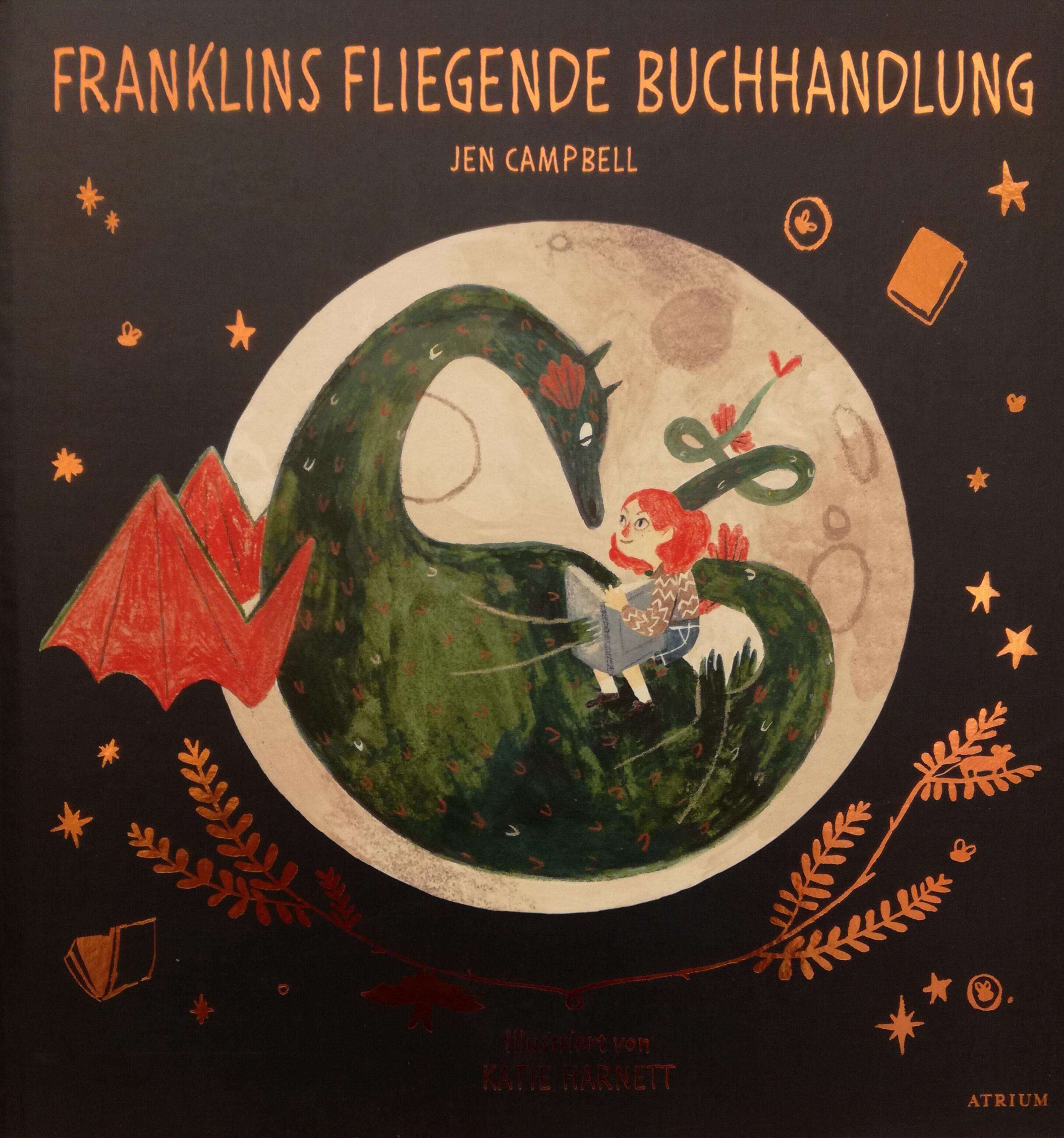 Franklins fliegende Buchhandlung Book Cover