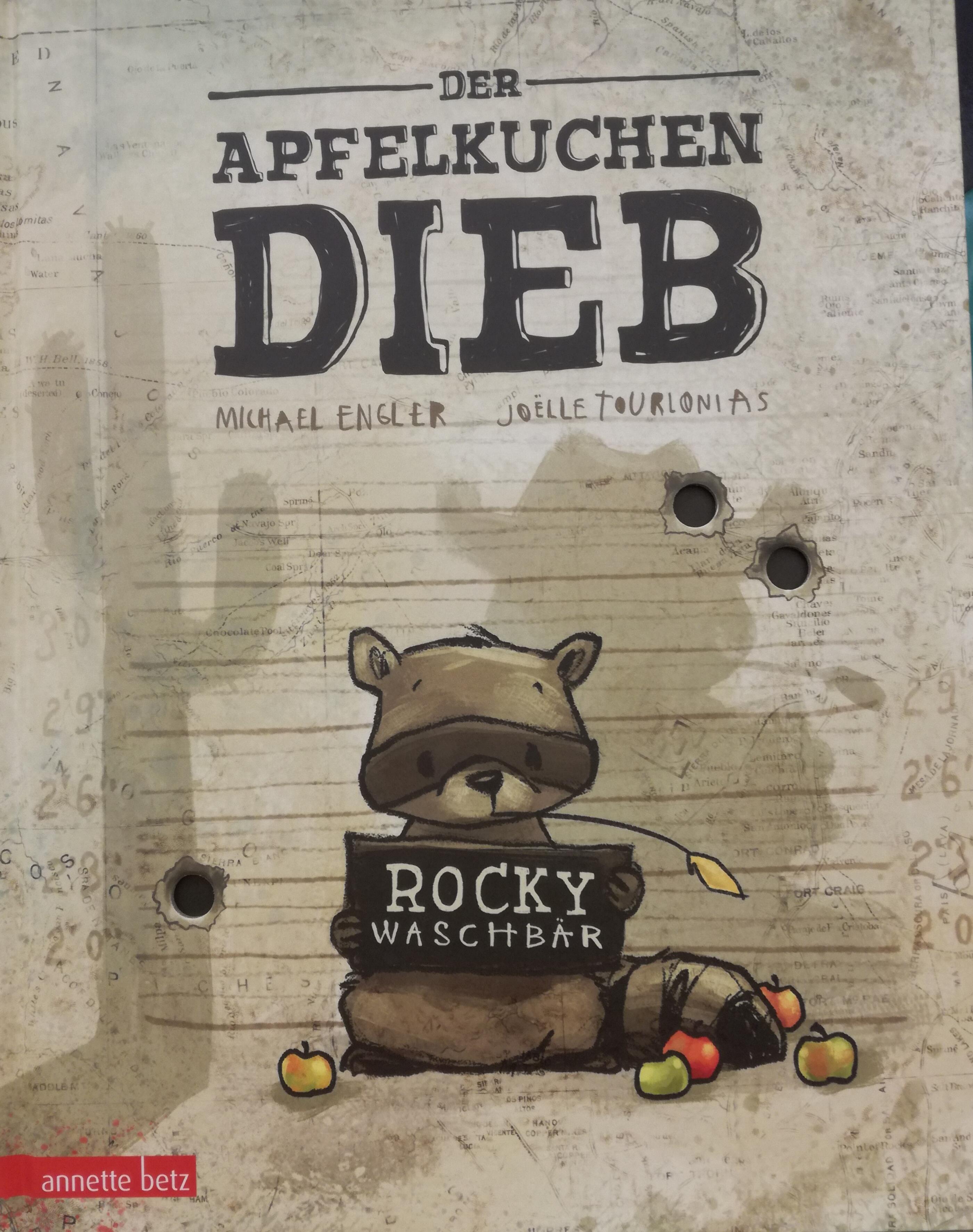 Der Apfelkuchendieb Book Cover