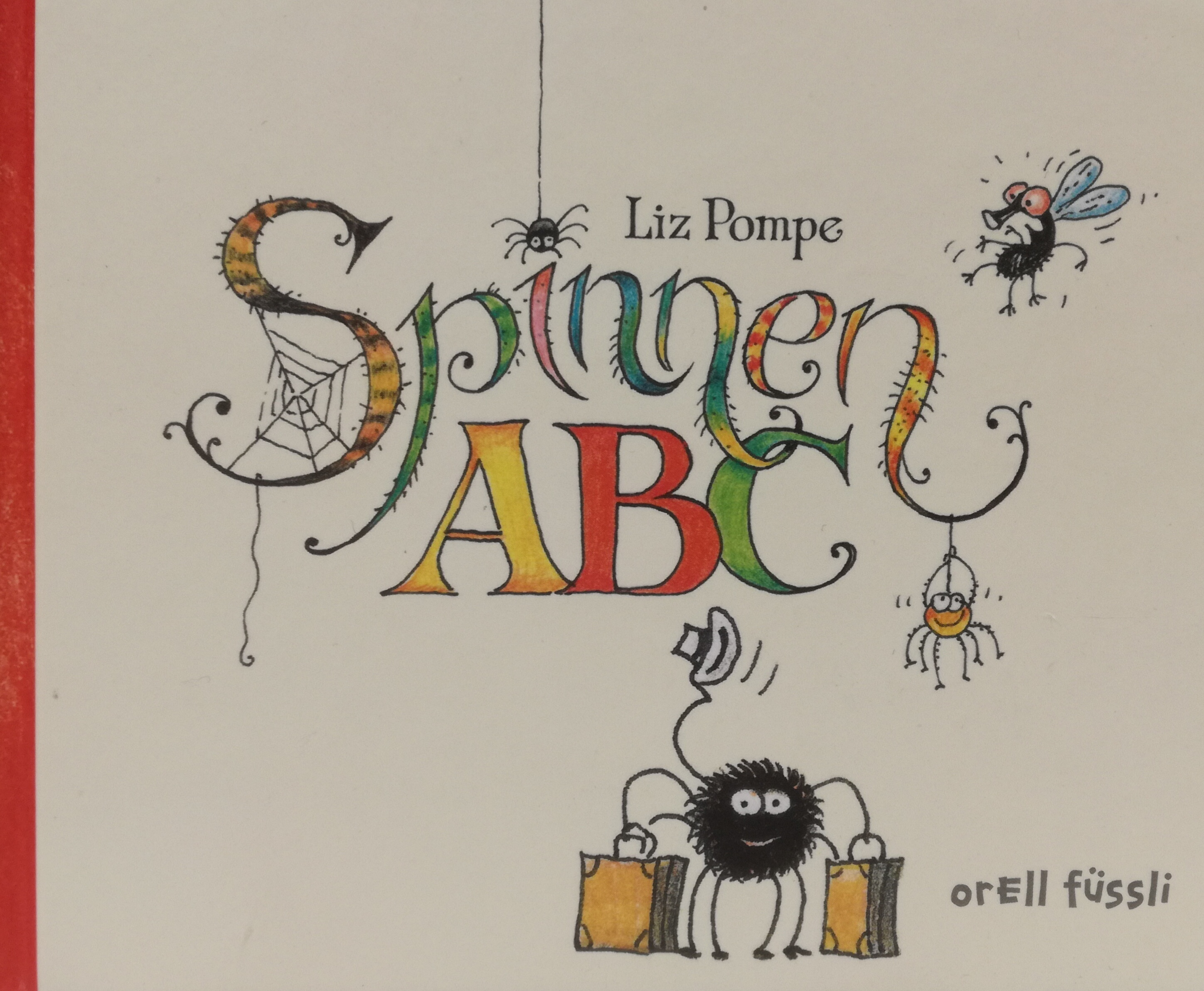 Spinnen ABC Book Cover