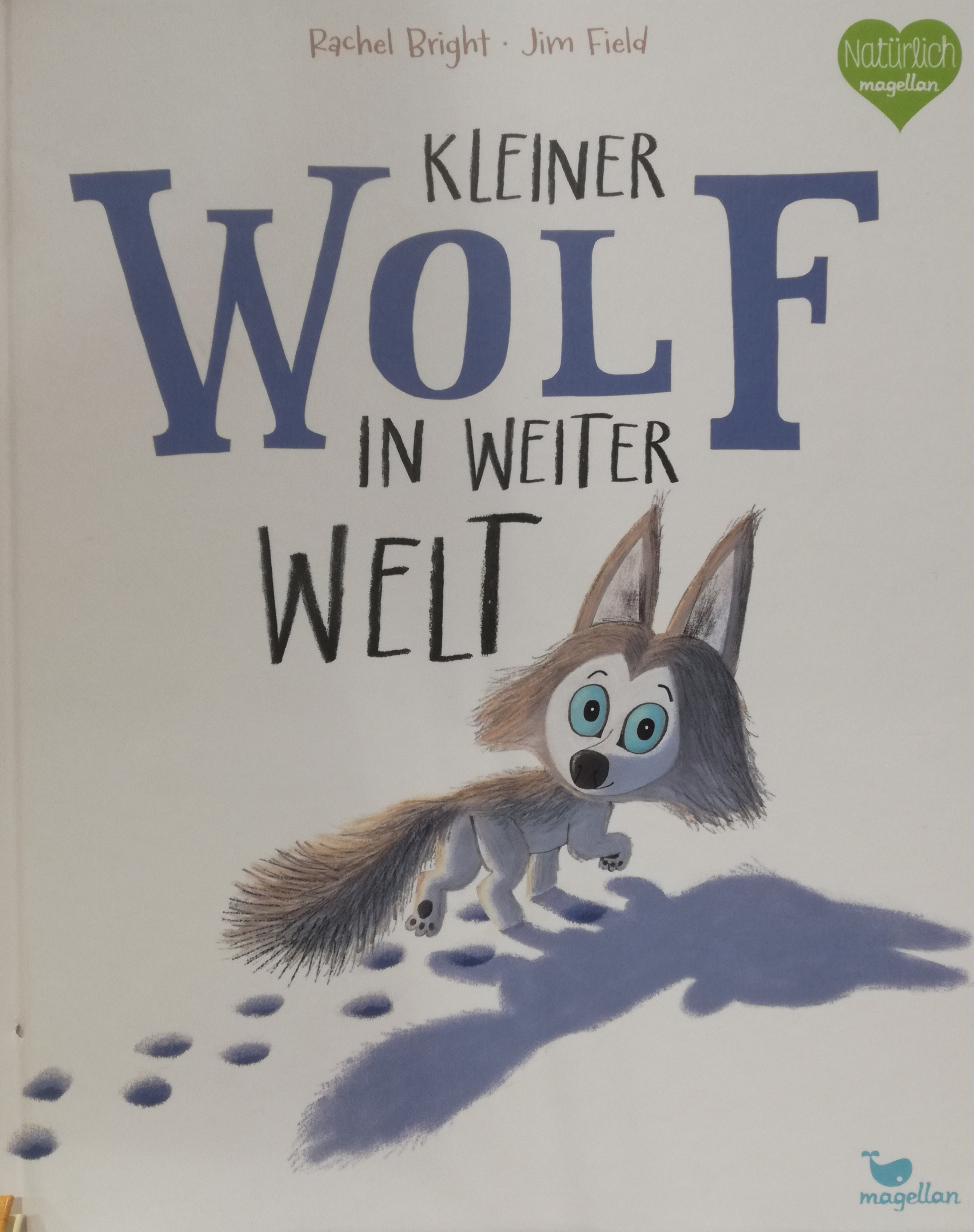 Kleiner Wolf in weiter Welt Book Cover