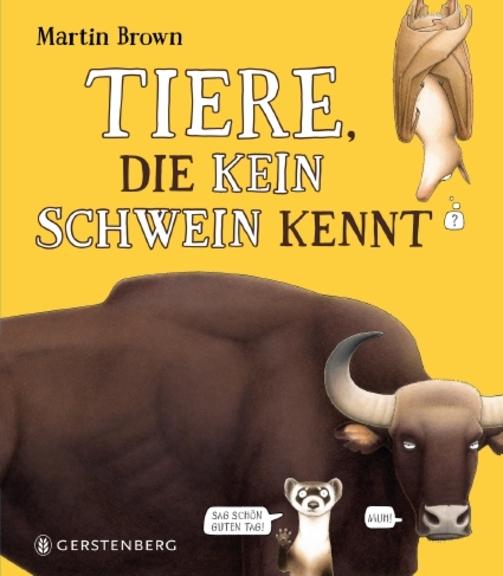 Tiere, die kein Schwein kennt Book Cover