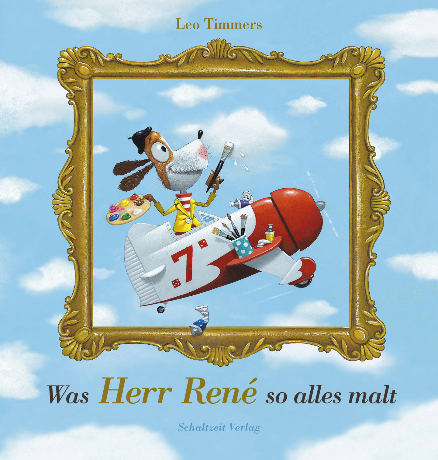 Was Herr René so alles malt Book Cover
