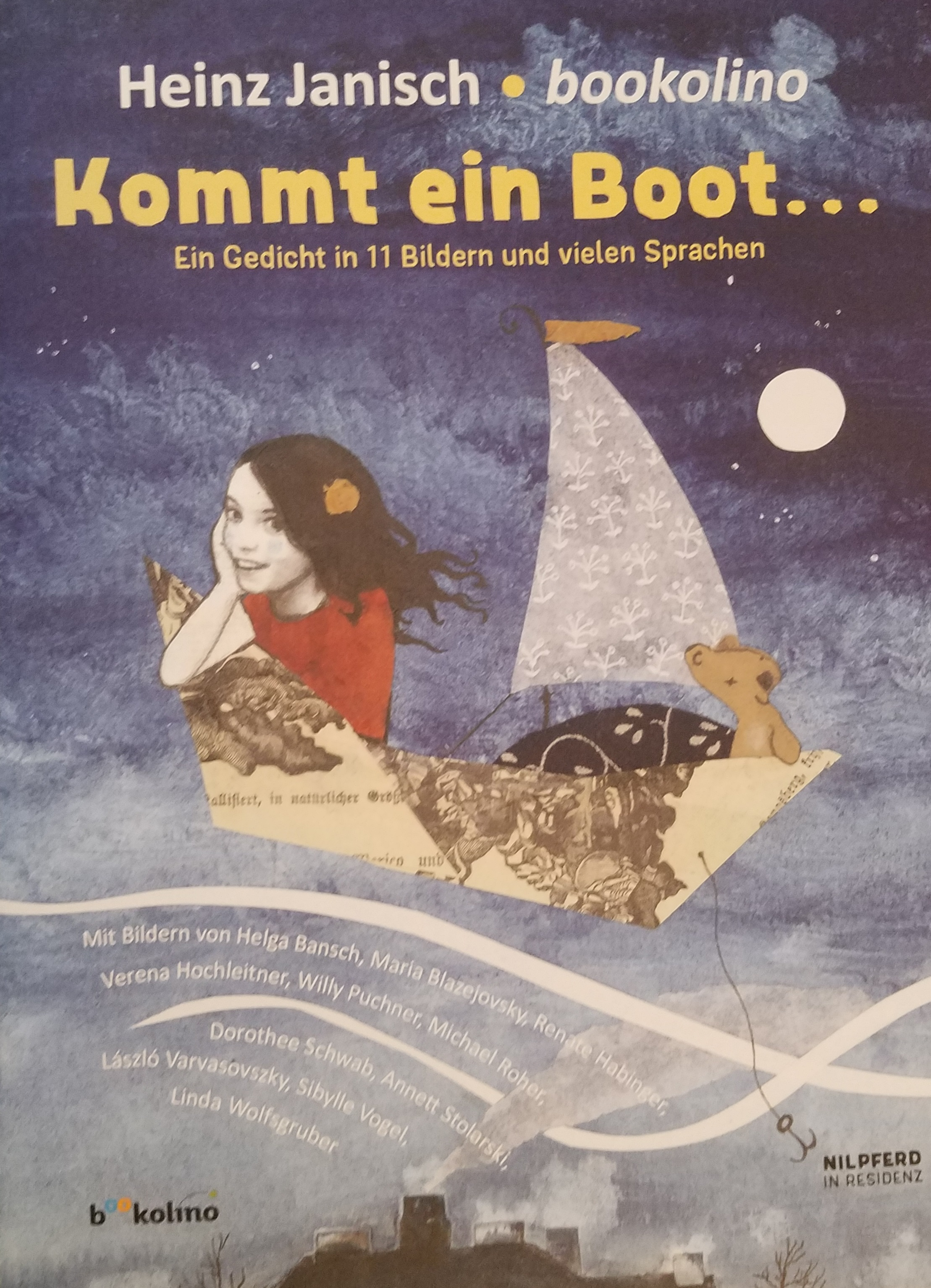 Kommt ein Boot... Book Cover