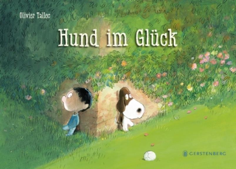 Hund im Glück Gerstenberg, 2019 Bilderbuch, 32 Seiten: Illustrationen (farbig) Book Cover