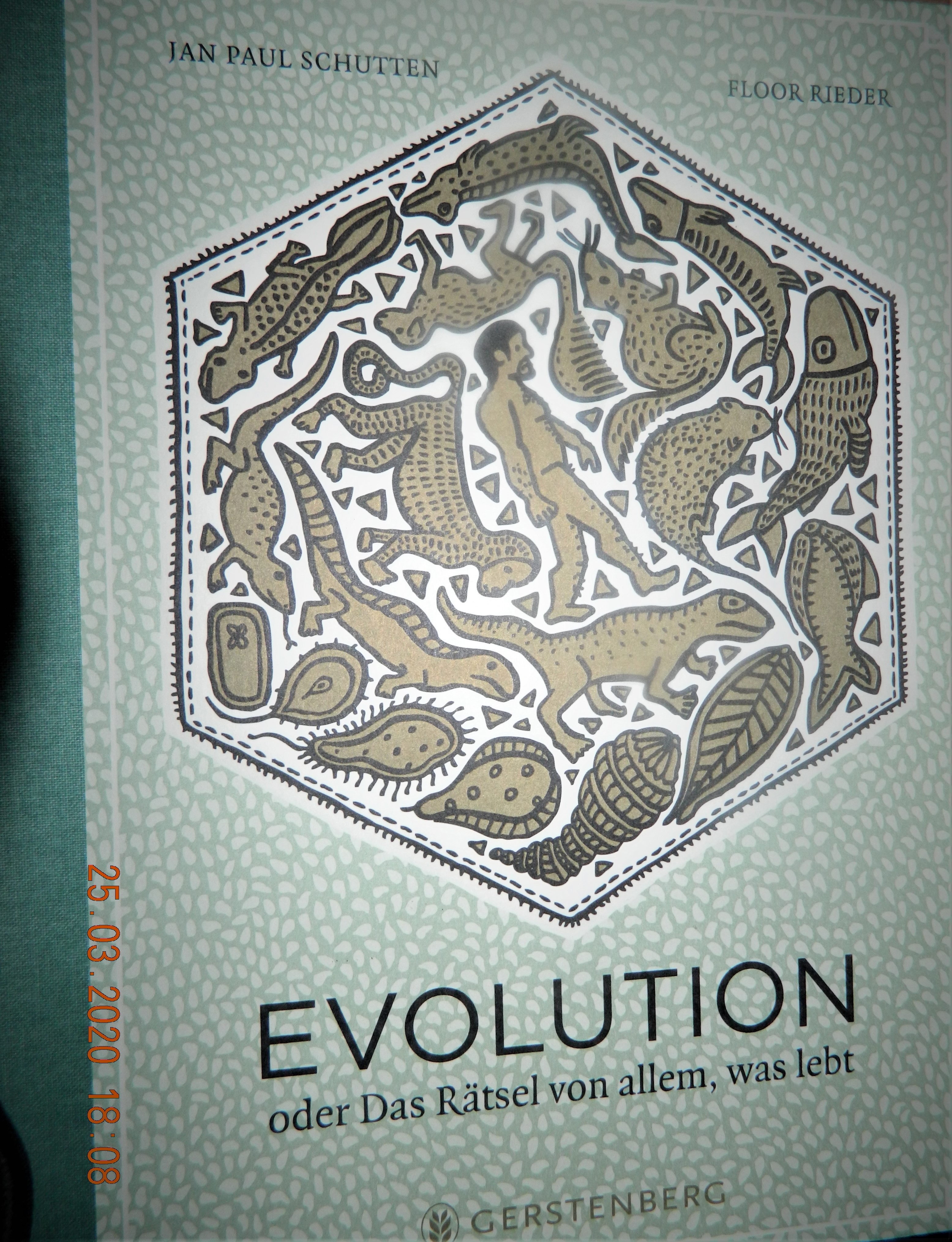 Evolution, oder Das Rätsel von allem, was lebt Book Cover