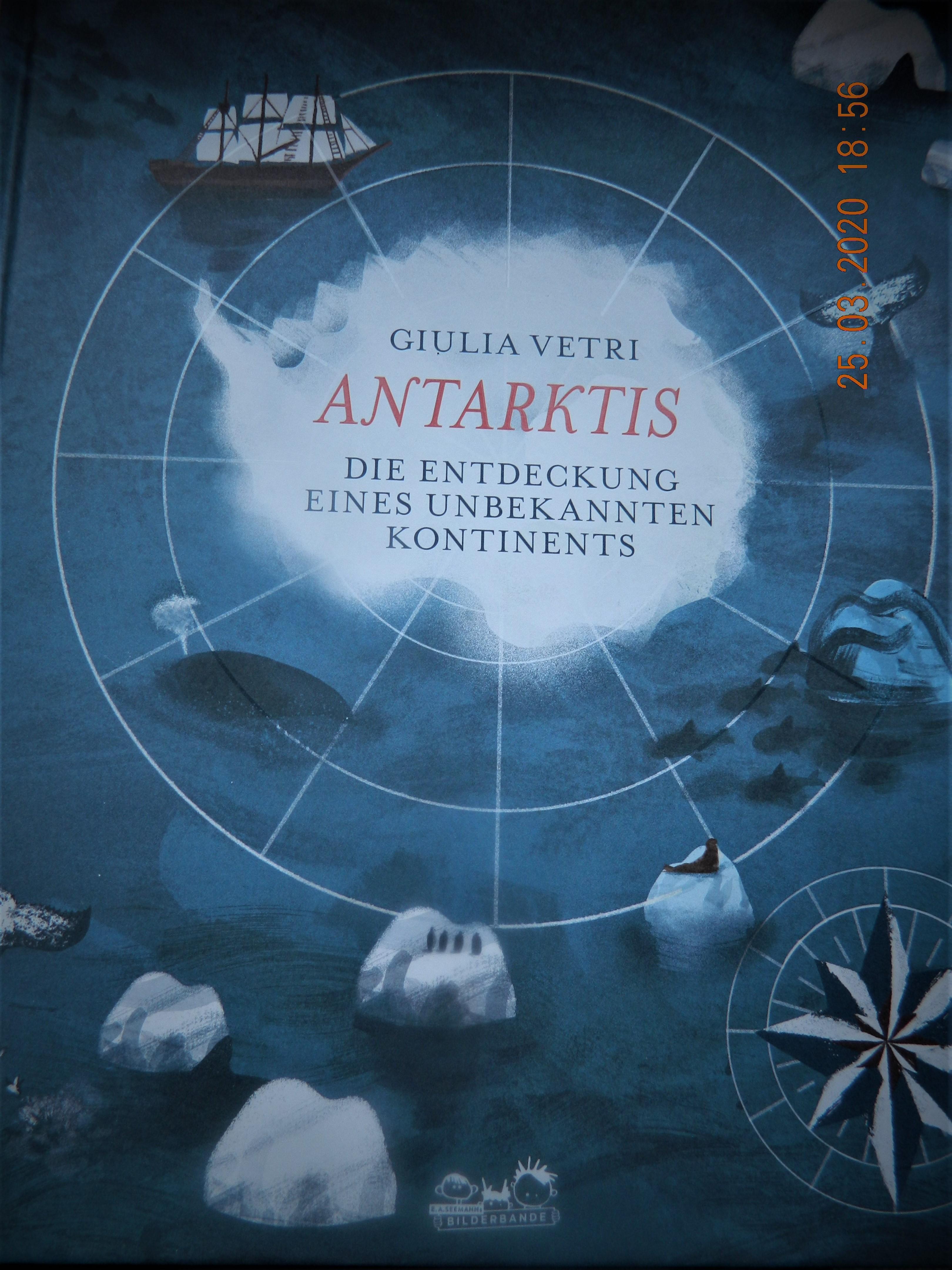 Antarktis Die Entdeckung eines unbekannten Kontinents Book Cover