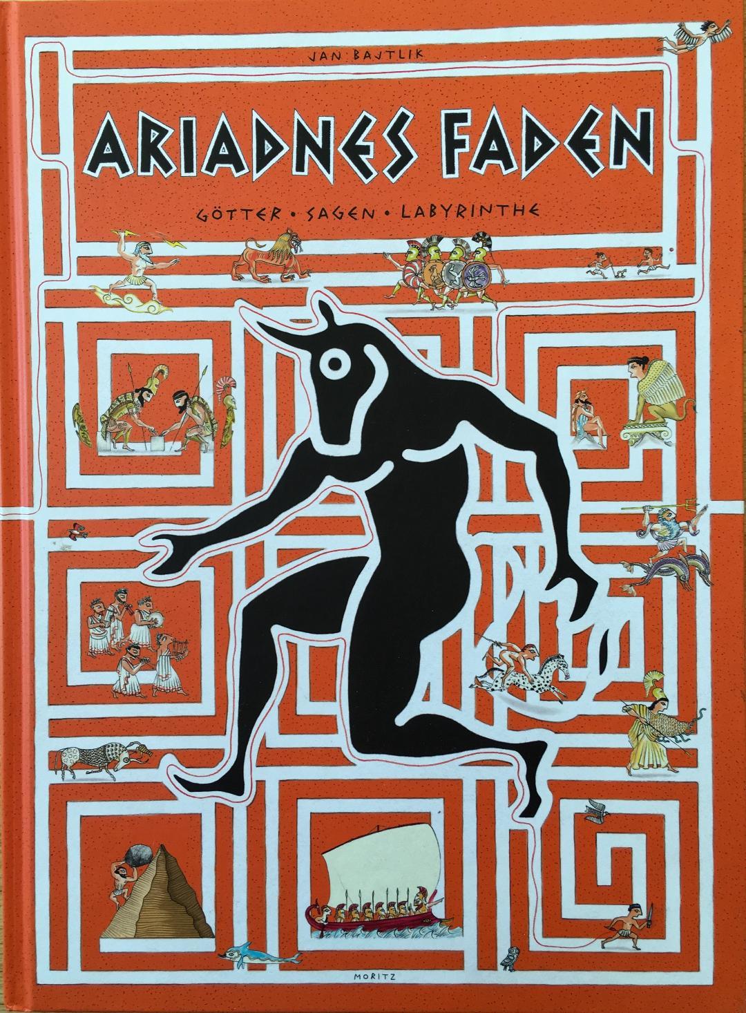 Ariadnes Faden Book Cover