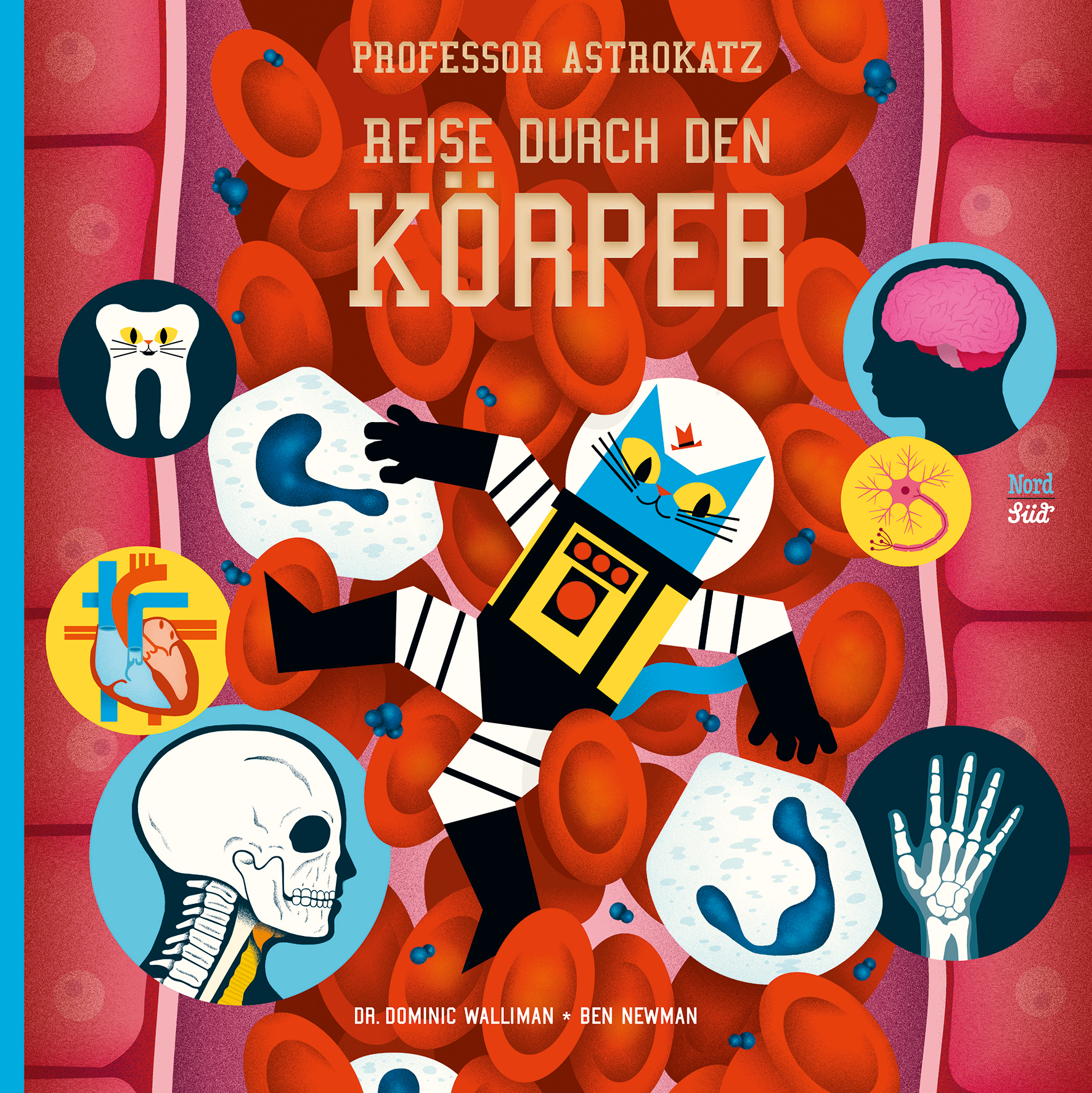 Professor Astrokatz Reise durch den Körper Book Cover