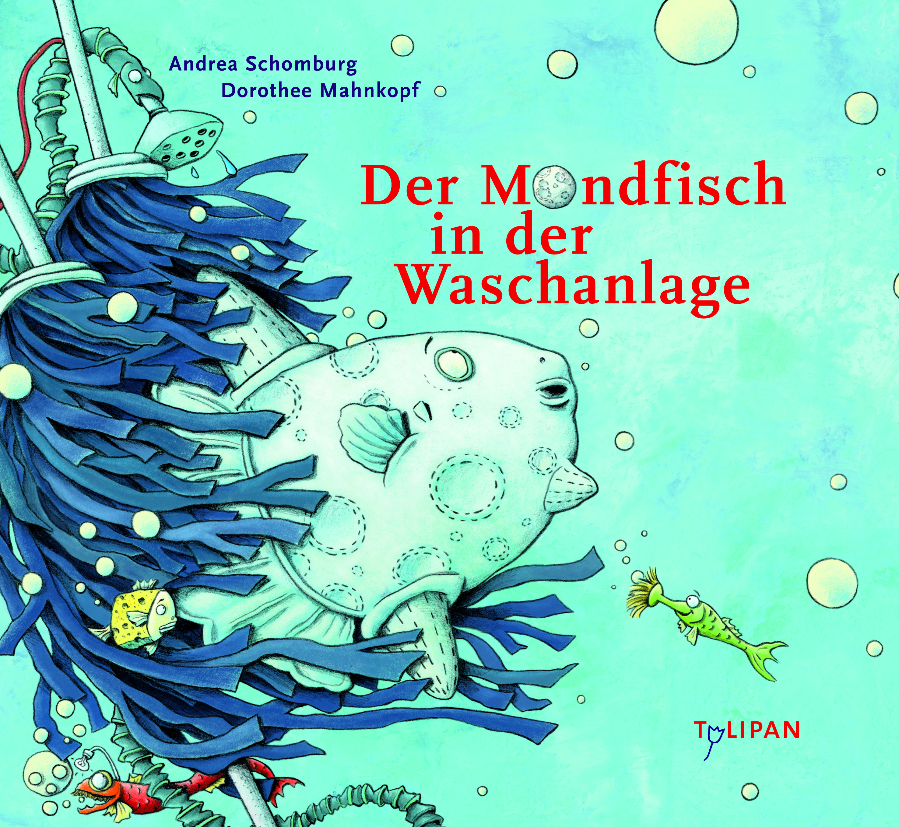 Der Mondfisch in der Waschanlage Book Cover