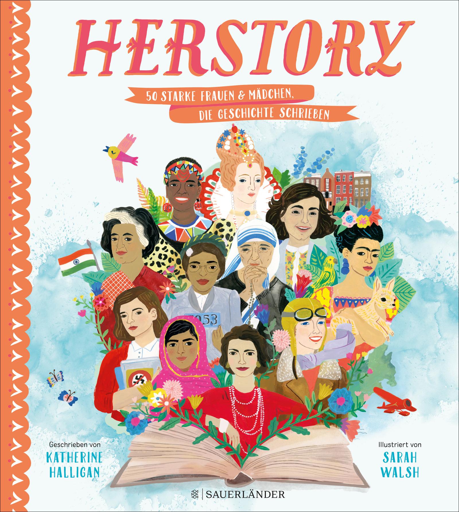 Her Story - 50 starke Frauen & Mädchen, die Geschichte schrieben Book Cover