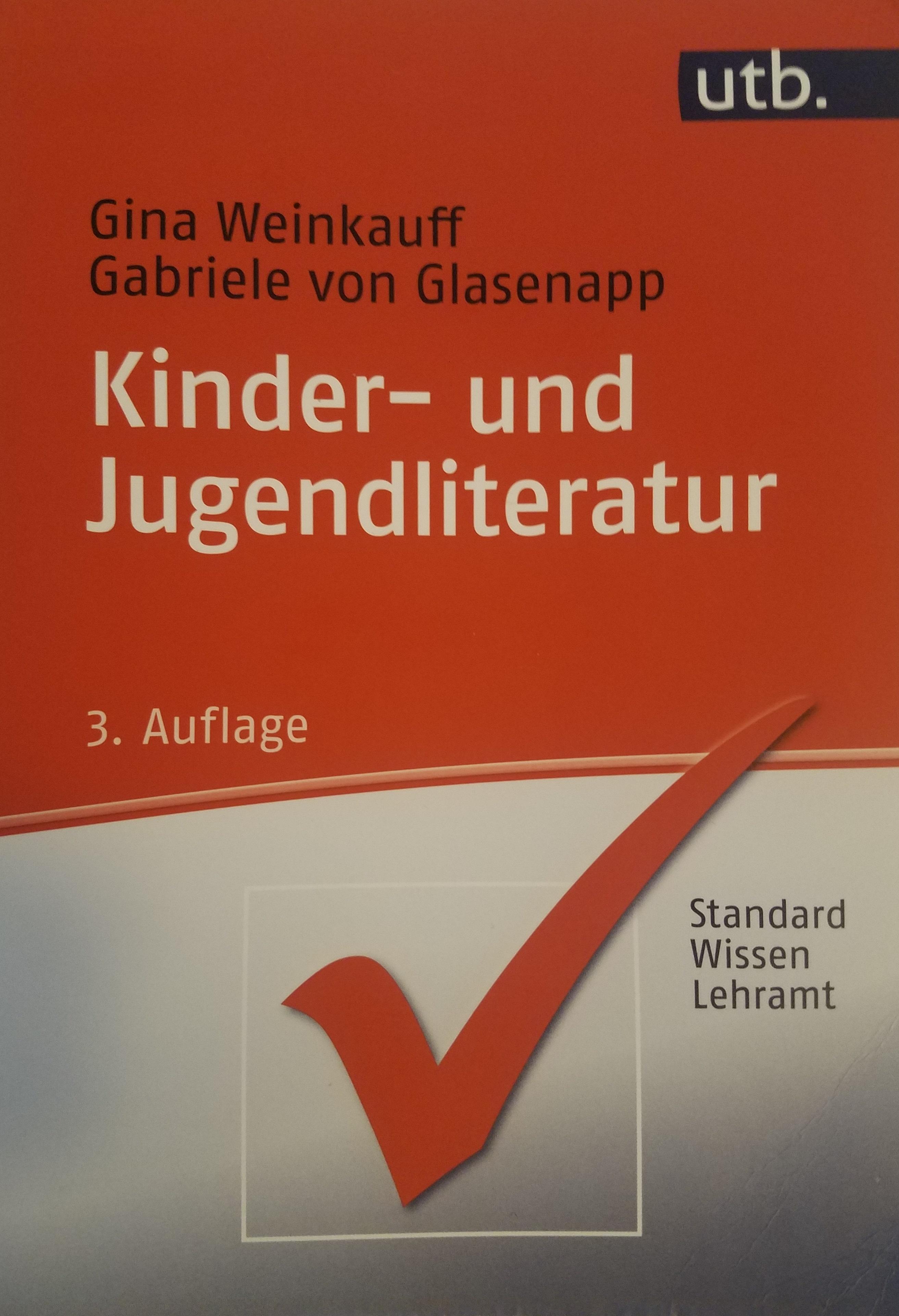 Kinder- und Jugendliteratur Book Cover