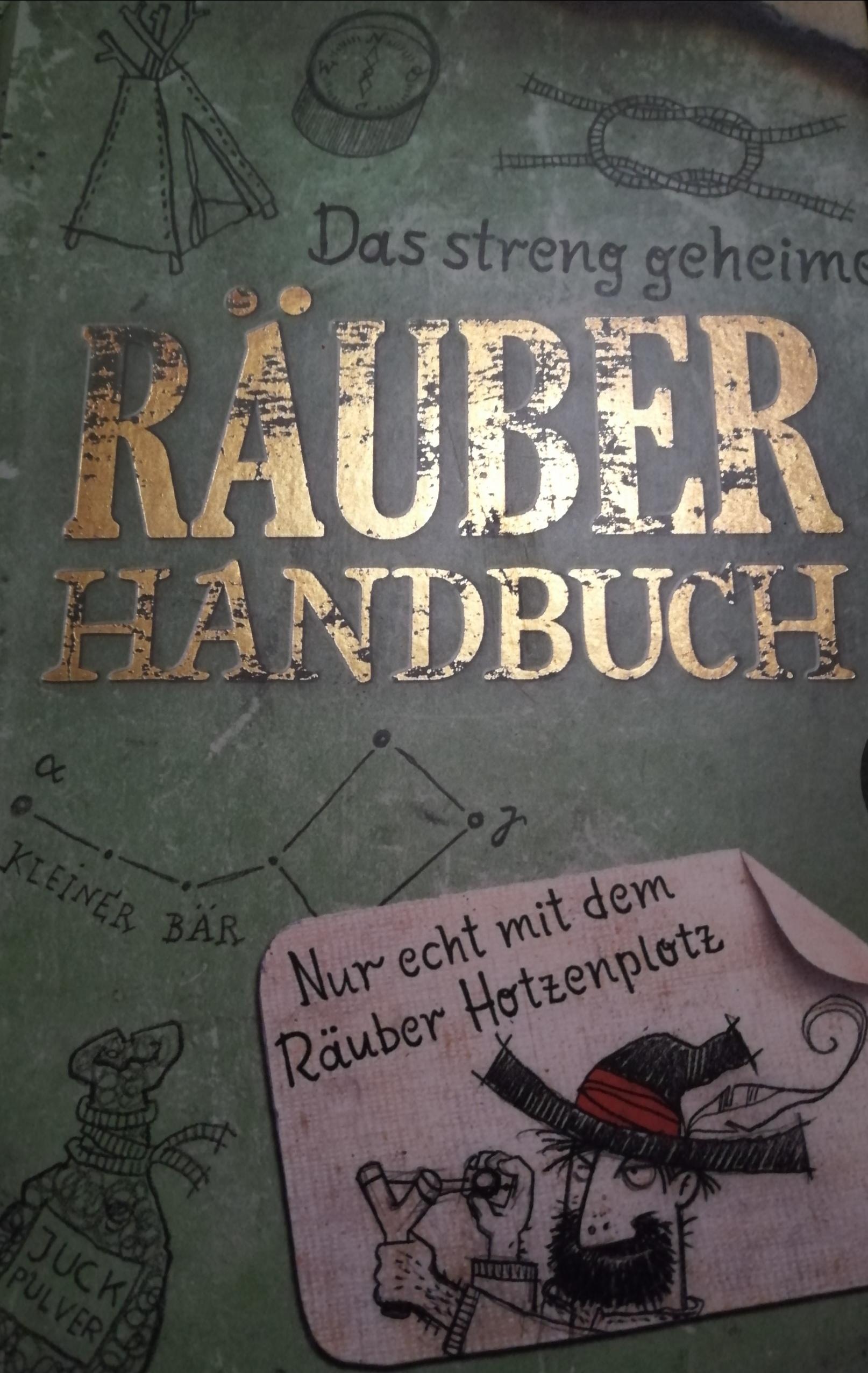 Das streng geheime Räuberhandbuch Book Cover