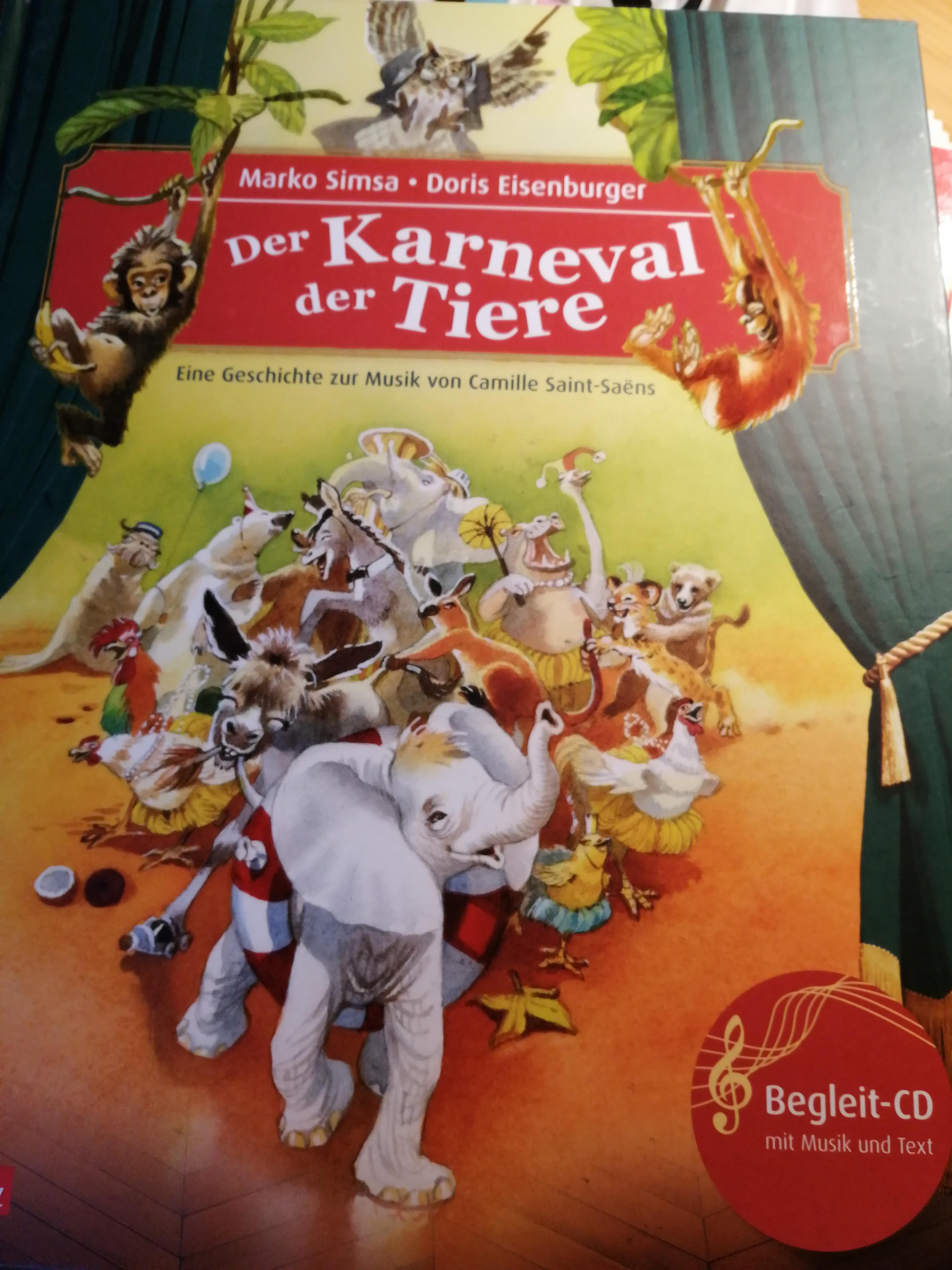 Der Karneval der Tiere Book Cover