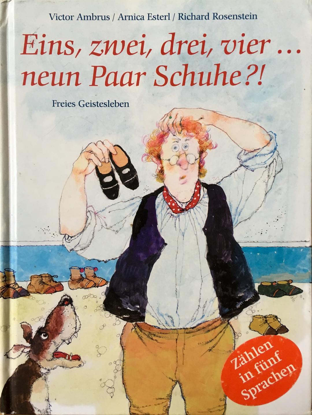 Eins, zwei, drei, vier... neun Paar Schuhe Book Cover