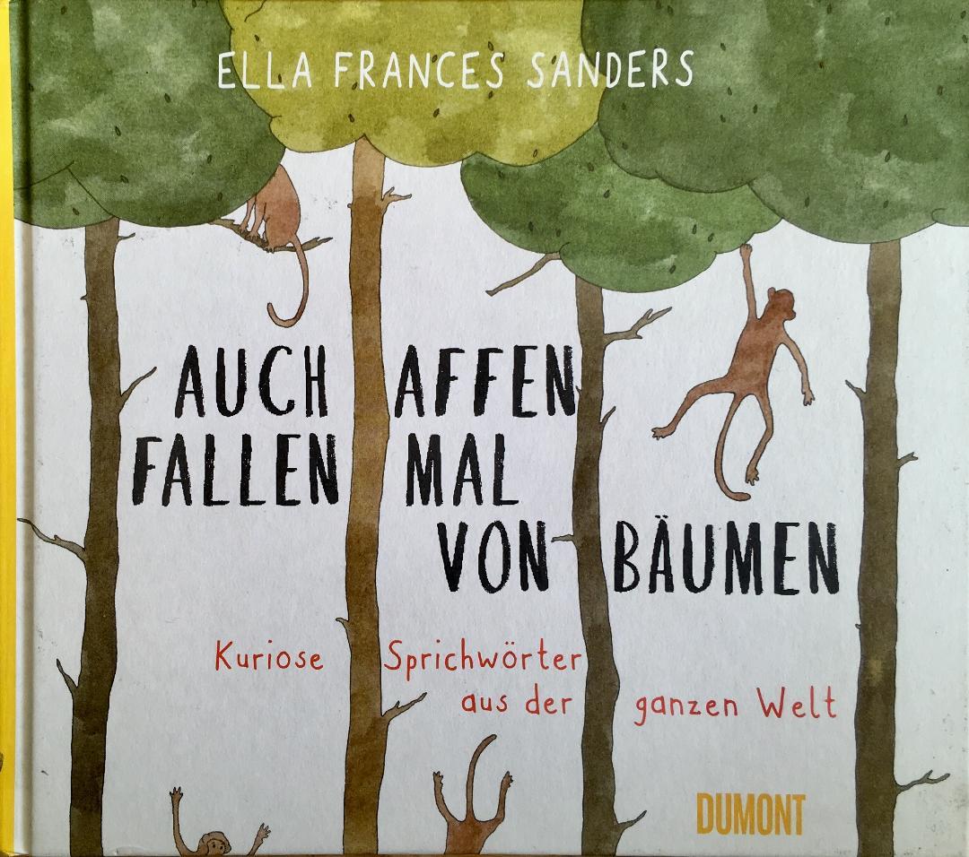 Auch Affen fallen mal von Bäumen Book Cover